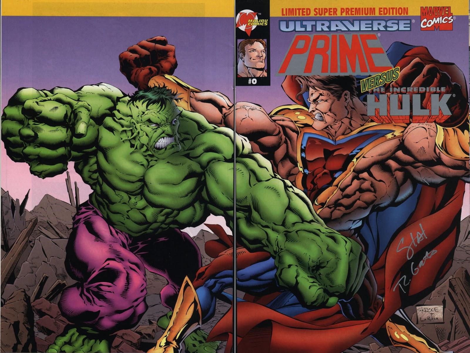 Read online Prime Vs. The Incredible Hulk comic -  Issue # Full - 1