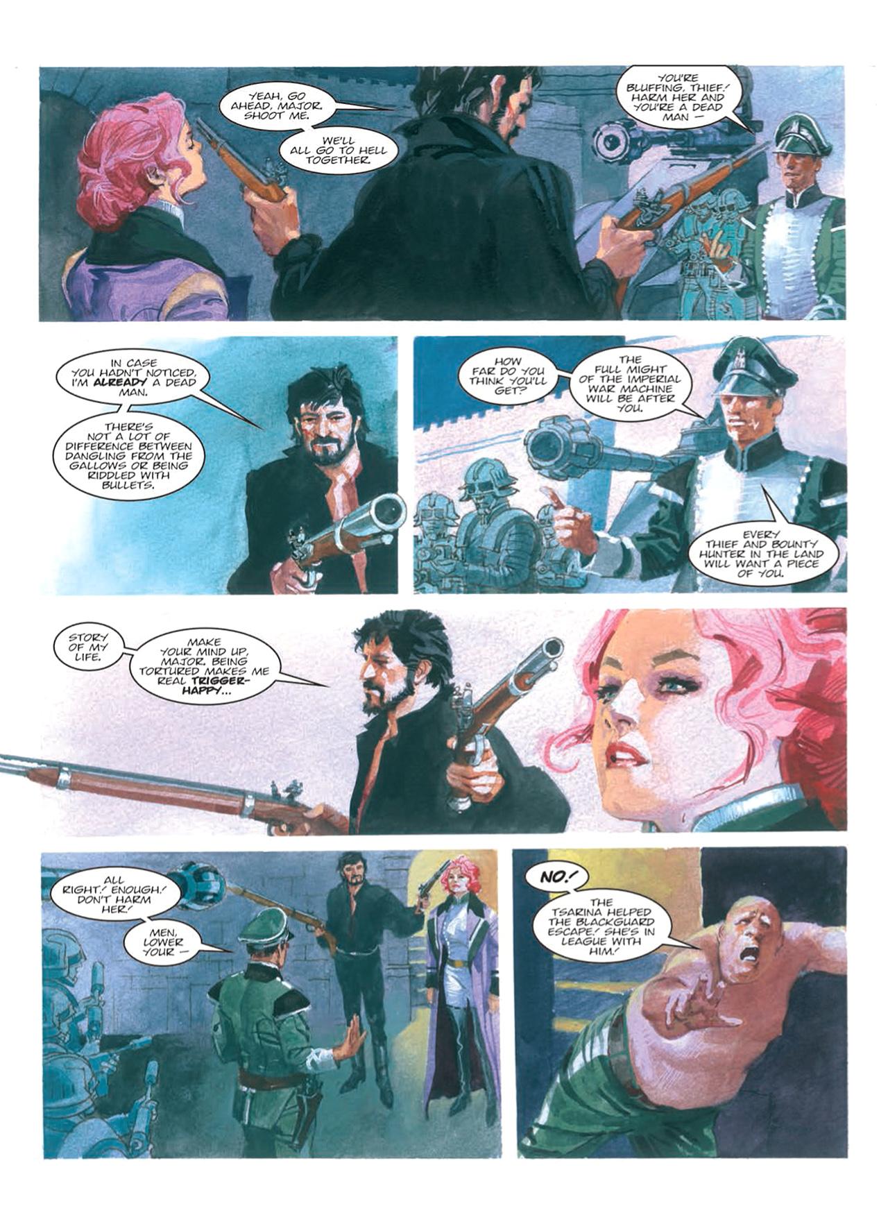 Read online Nikolai Dante comic -  Issue # TPB 9 - 99