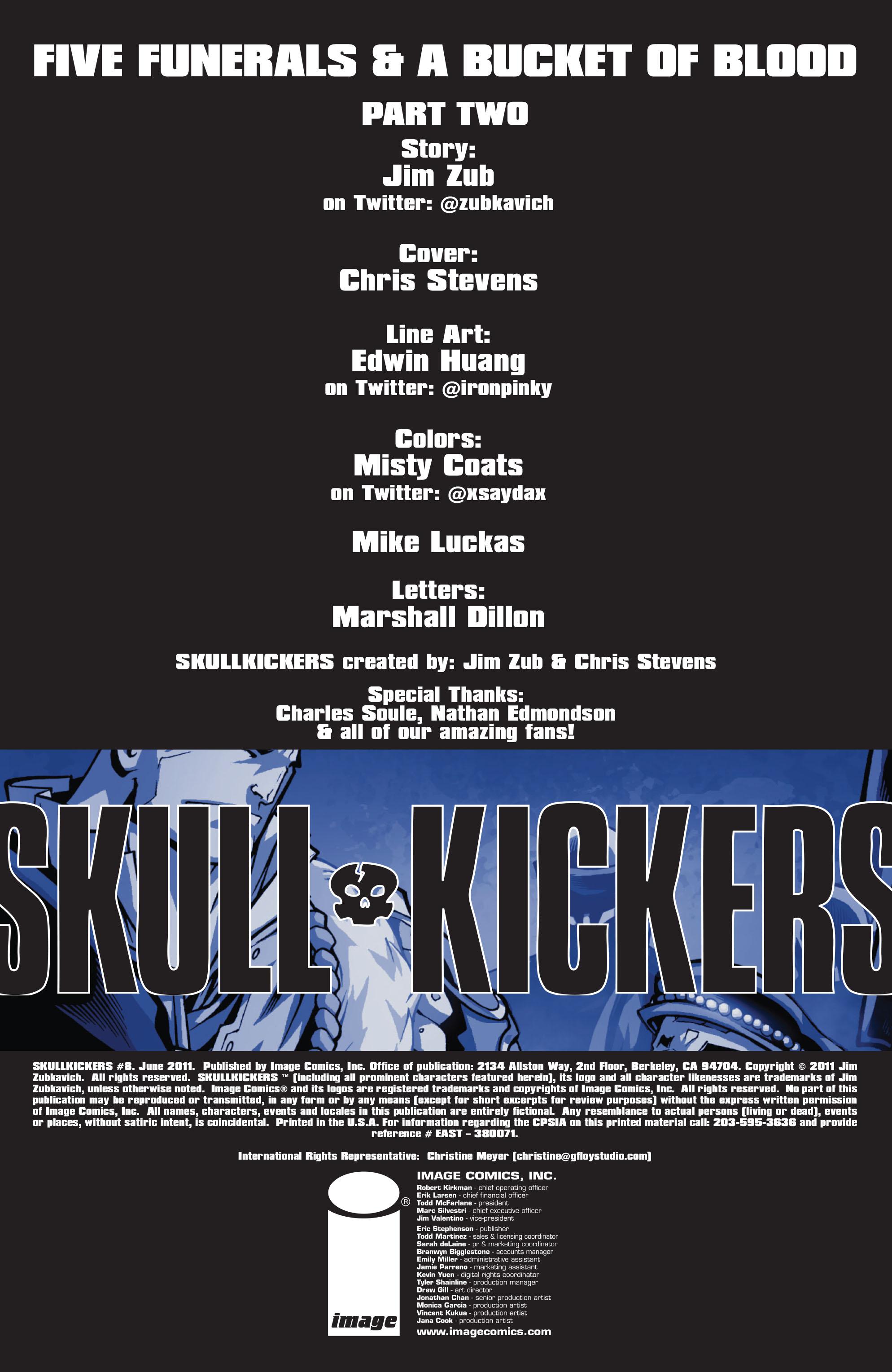 Read online Skullkickers comic -  Issue #8 - 2