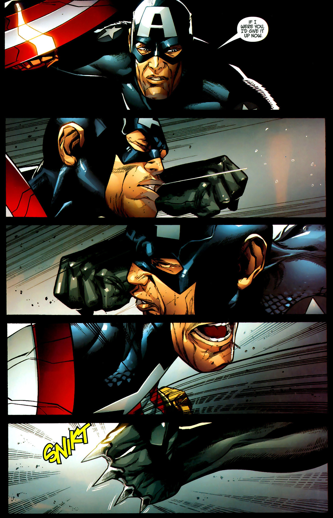 Read online Ultimate Captain America (2008) comic -  Issue # Full - 11