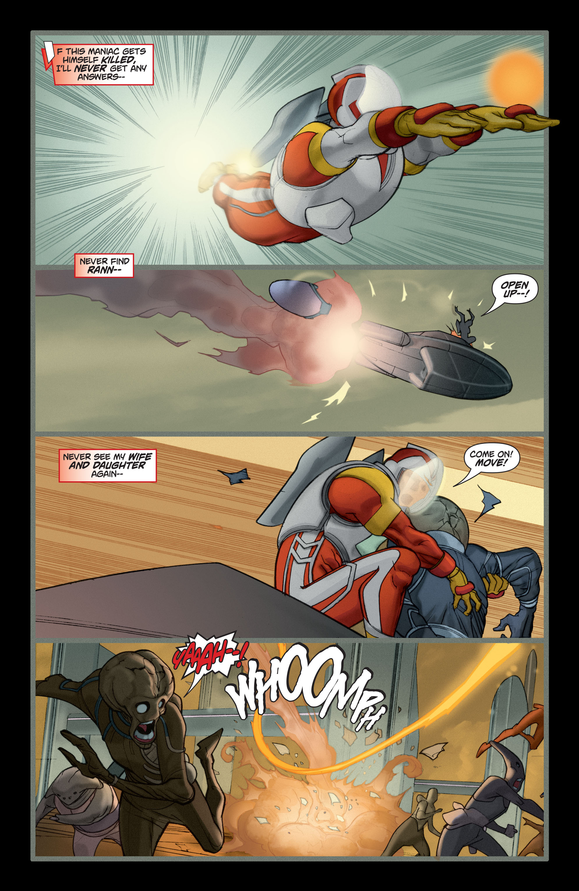 Read online Adam Strange (2004) comic -  Issue #5 - 22