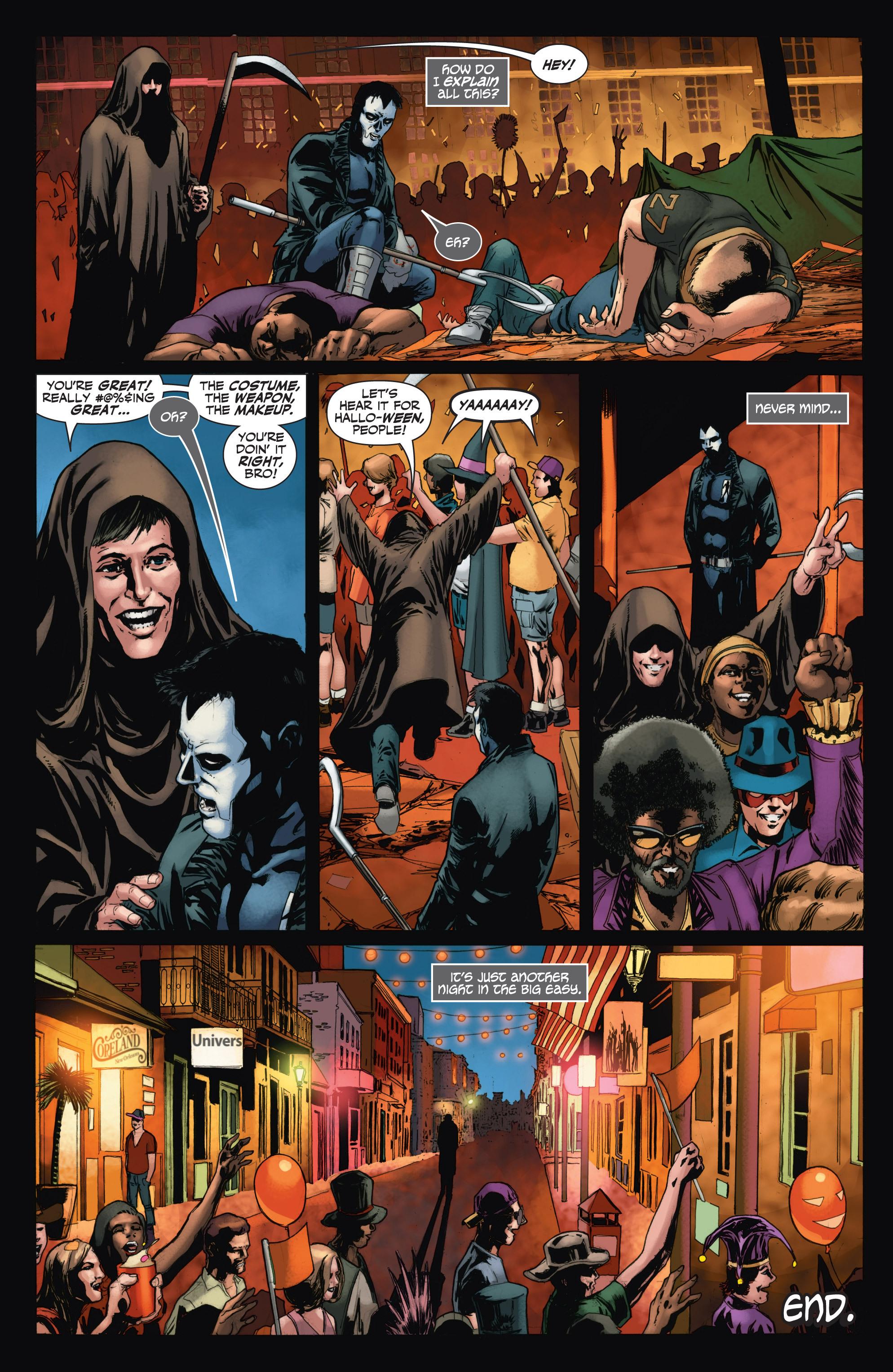 Read online Shadowman (2012) comic -  Issue #11 - 23