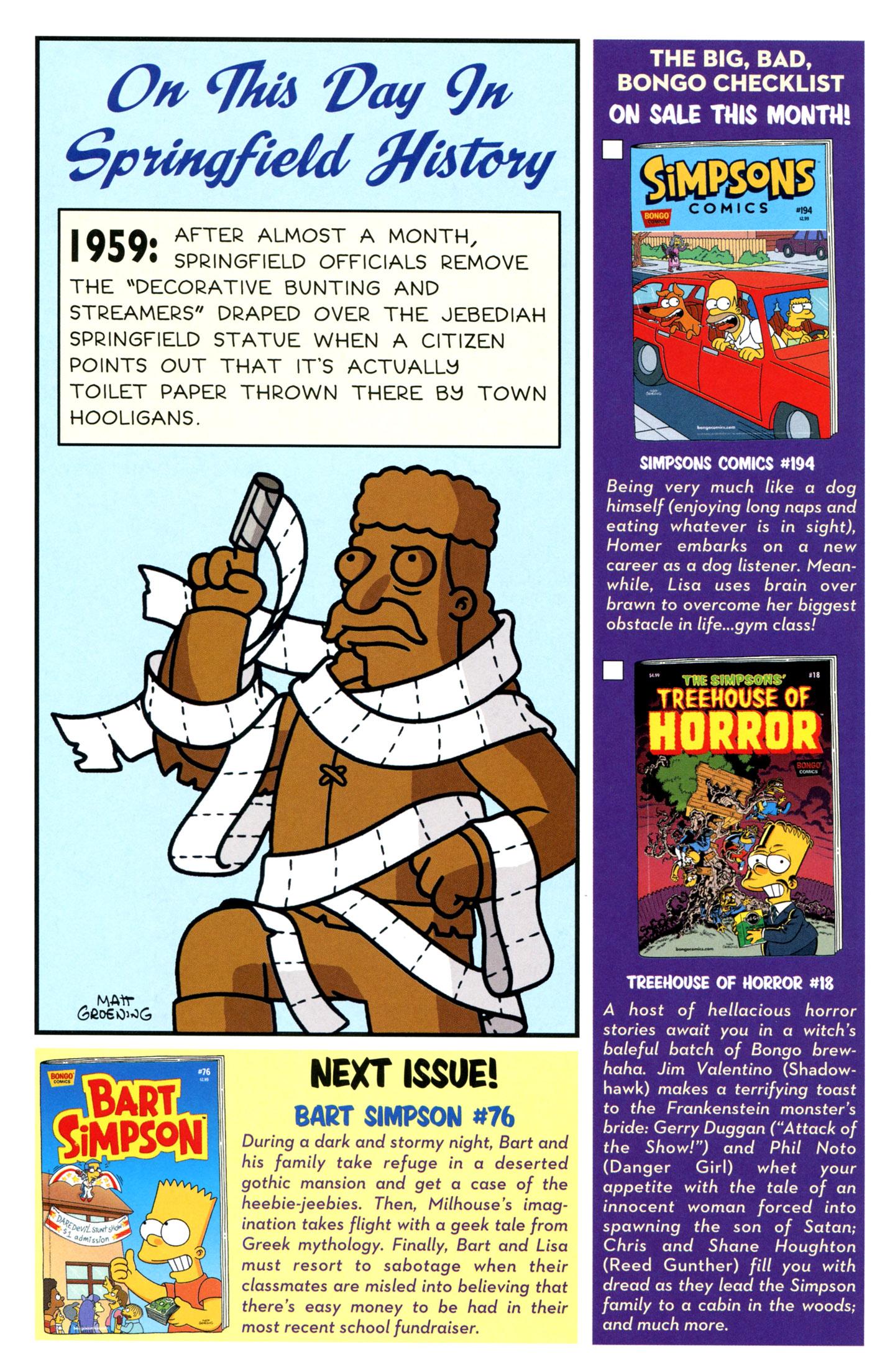 Read online Simpsons Comics Presents Bart Simpson comic -  Issue #75 - 30