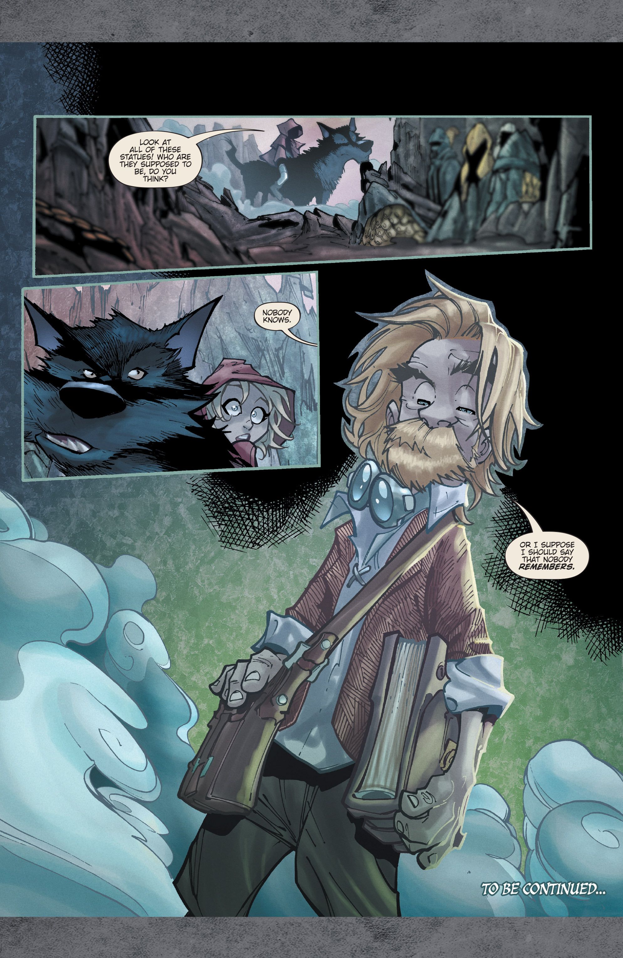 Read online Fairy Quest: Outcasts comic -  Issue #1 - 26