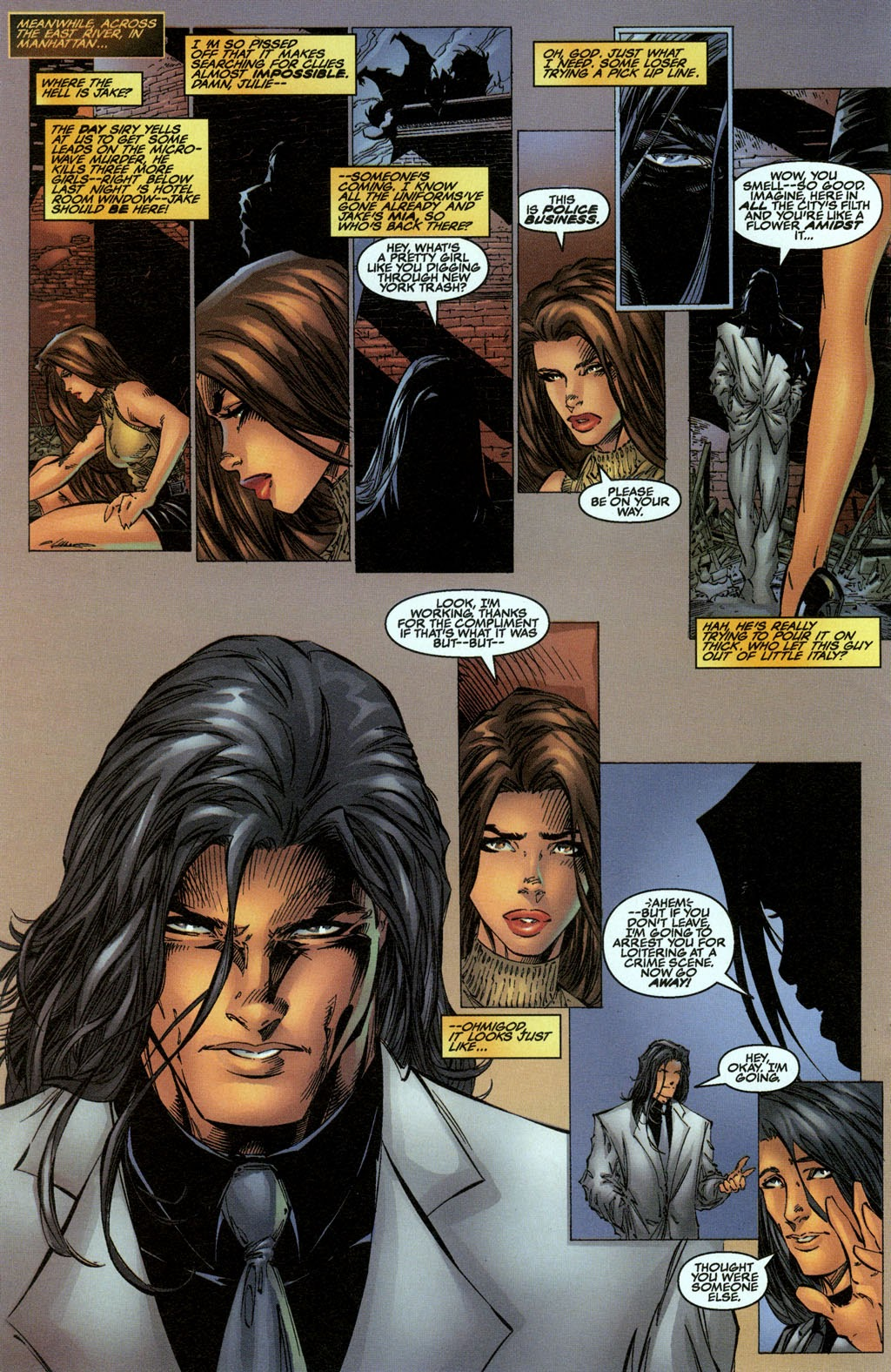 Read online The Darkness (1996) comic -  Issue #0 - 17