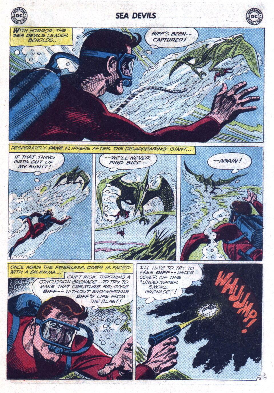 Read online Sea Devils comic -  Issue #11 - 19