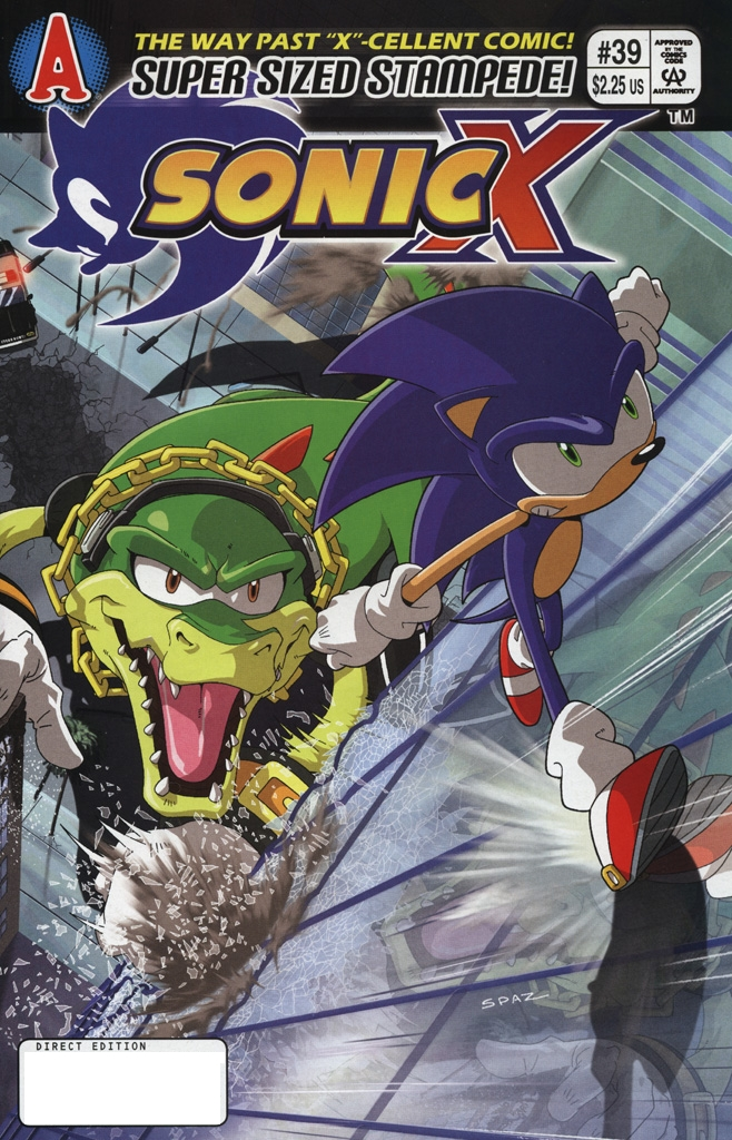 Read online Sonic X comic -  Issue #39 - 1