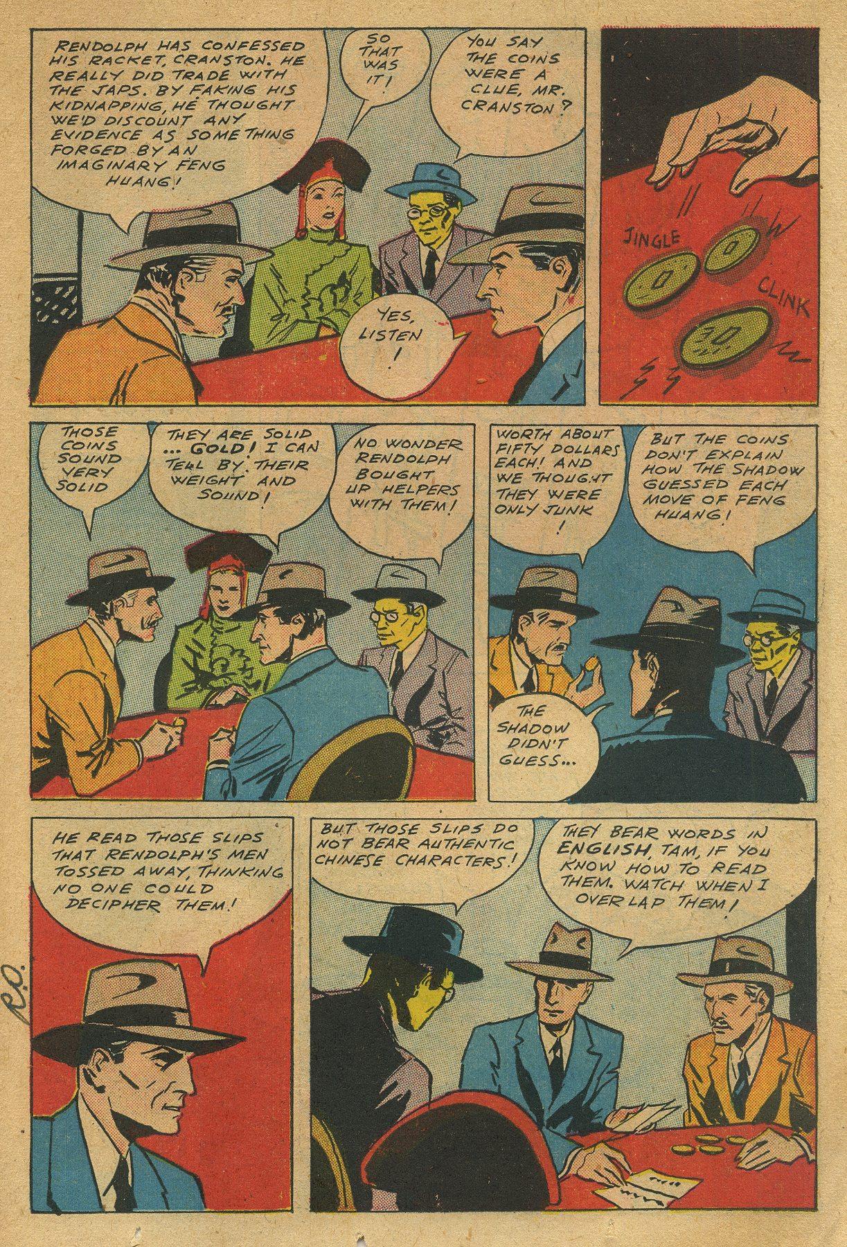 Read online Shadow Comics comic -  Issue #49 - 15