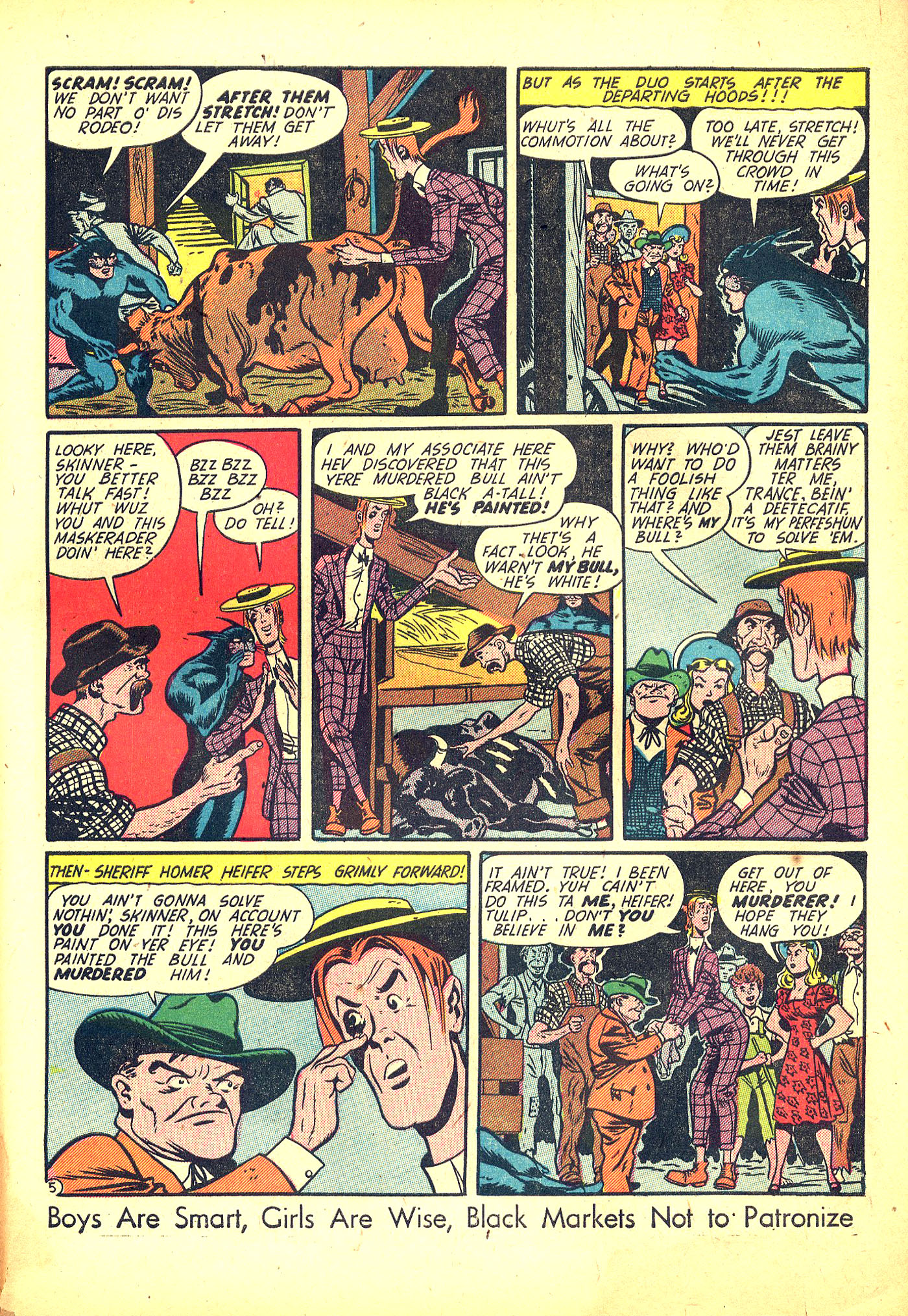 Read online Sensation (Mystery) Comics comic -  Issue #31 - 53