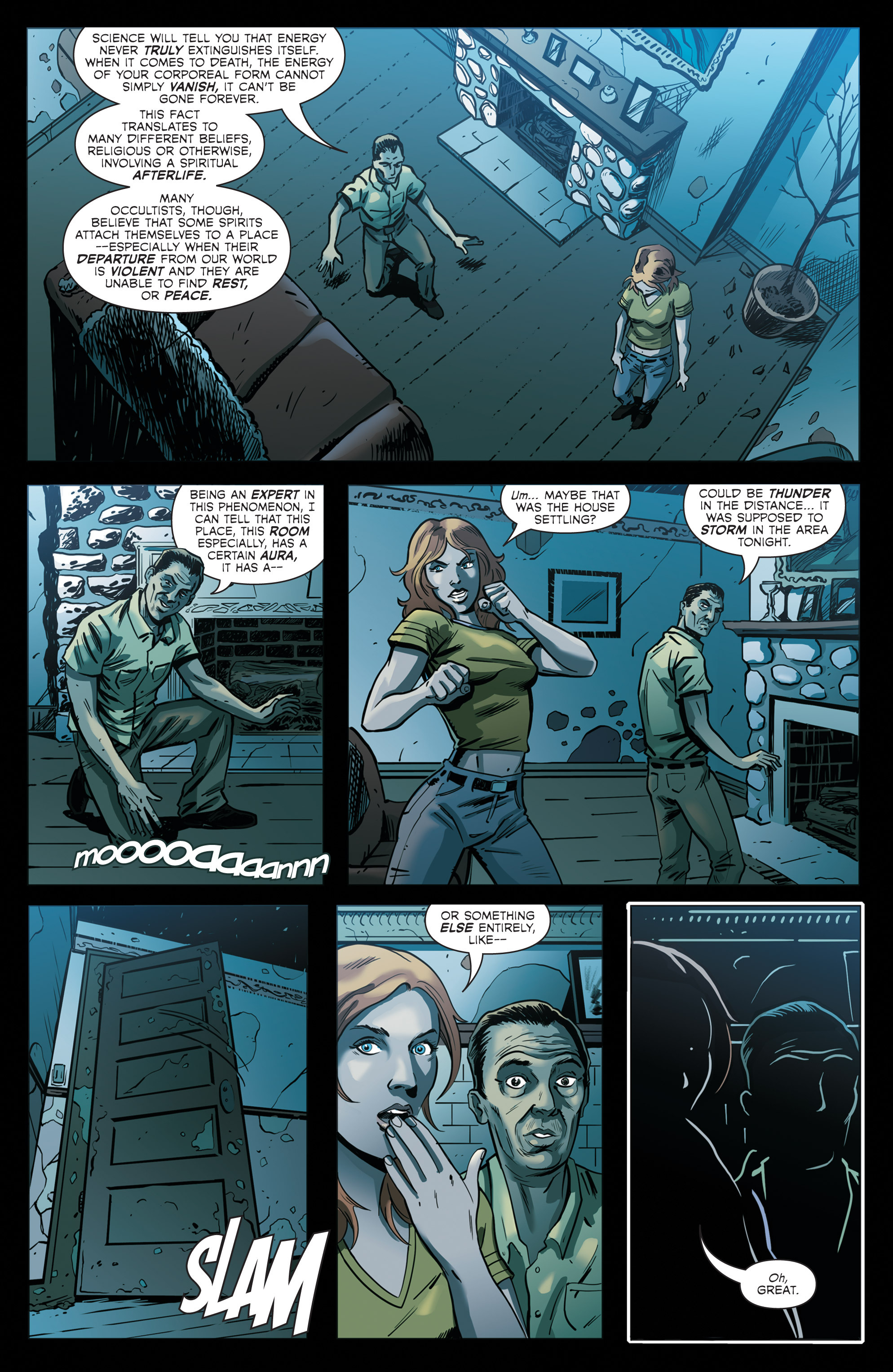 Read online Hoax Hunters (2012) comic -  Issue # TPB 2 - 78
