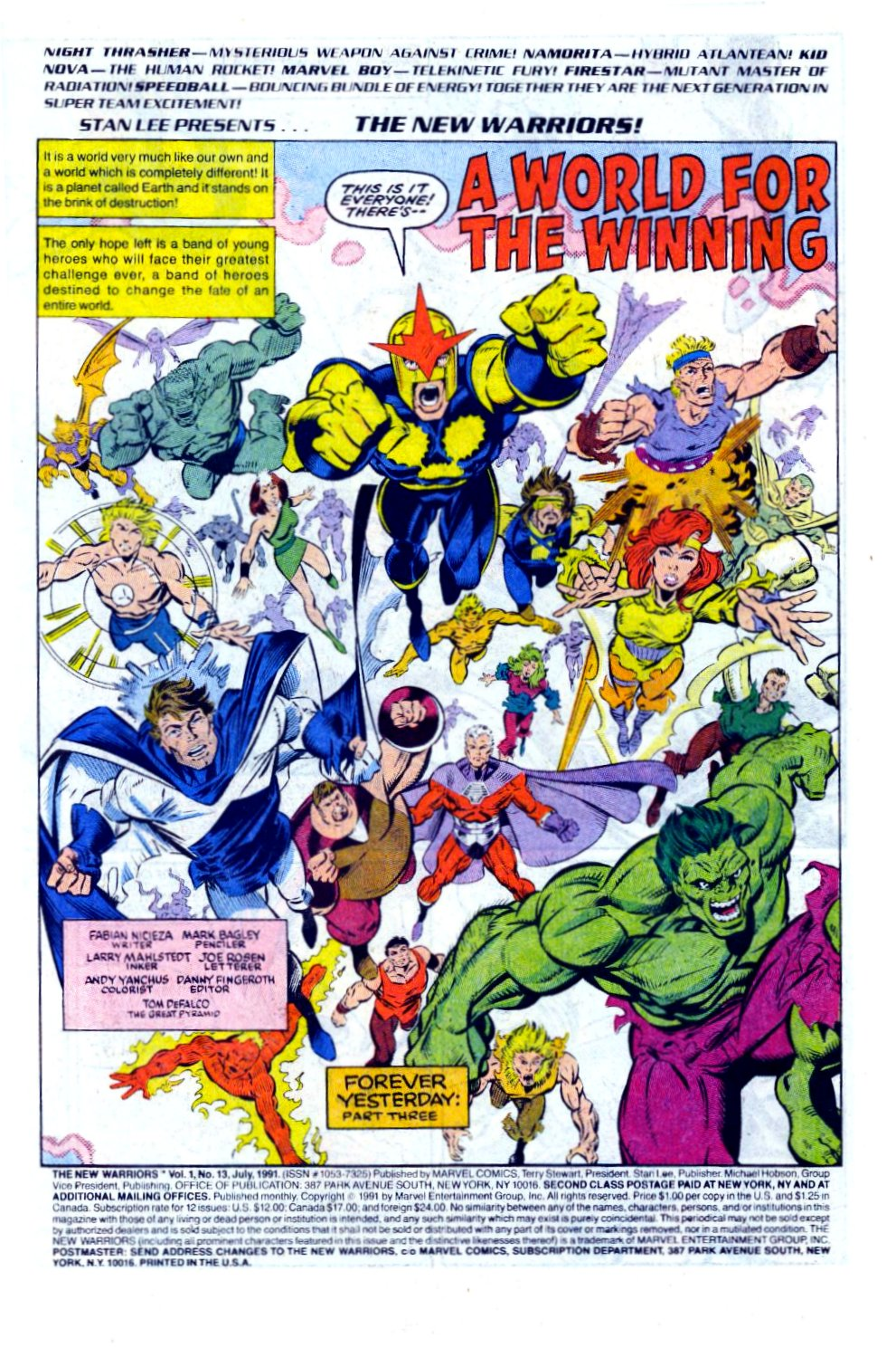 The New Warriors Issue #13 #17 - English 2