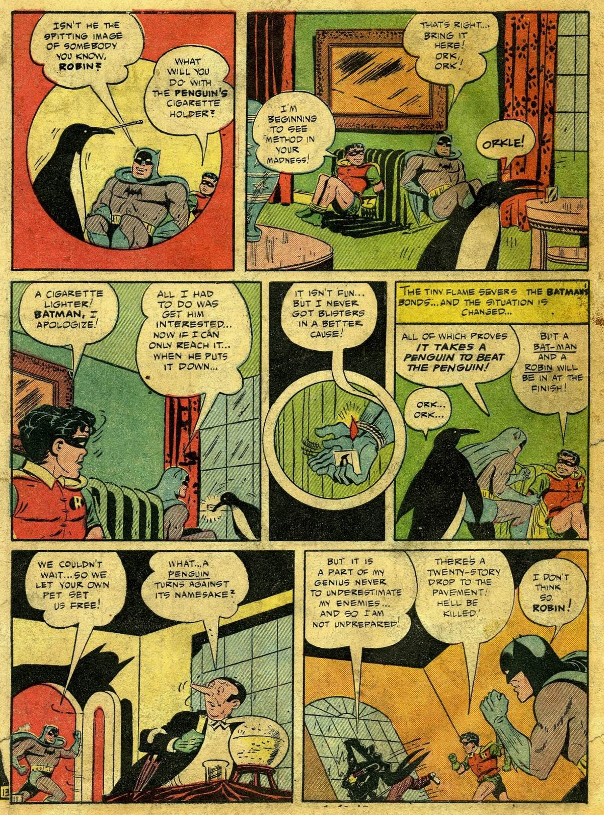 Read online Detective Comics (1937) comic -  Issue #67 - 13