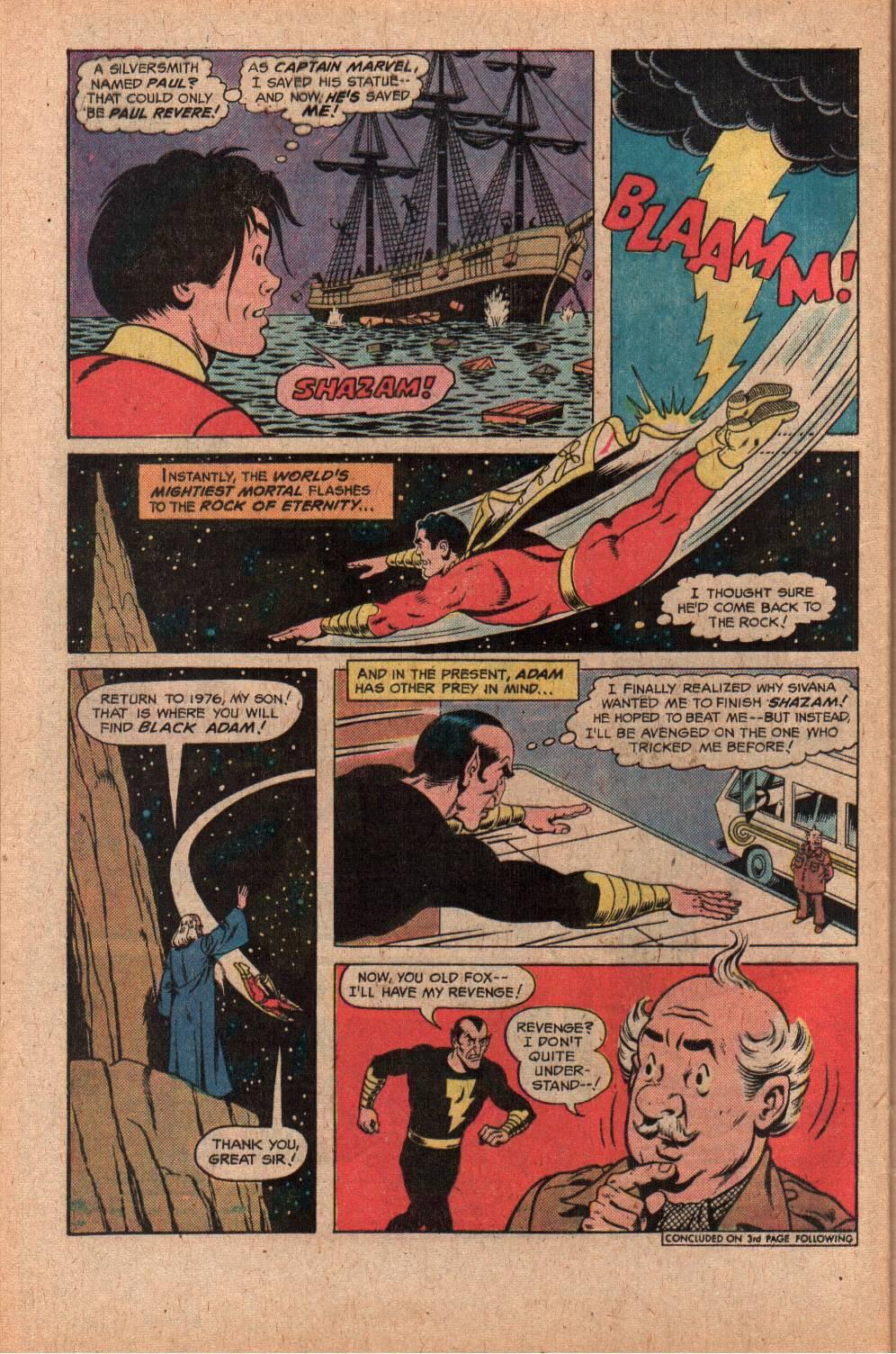 Read online Shazam! (1973) comic -  Issue #28 - 28