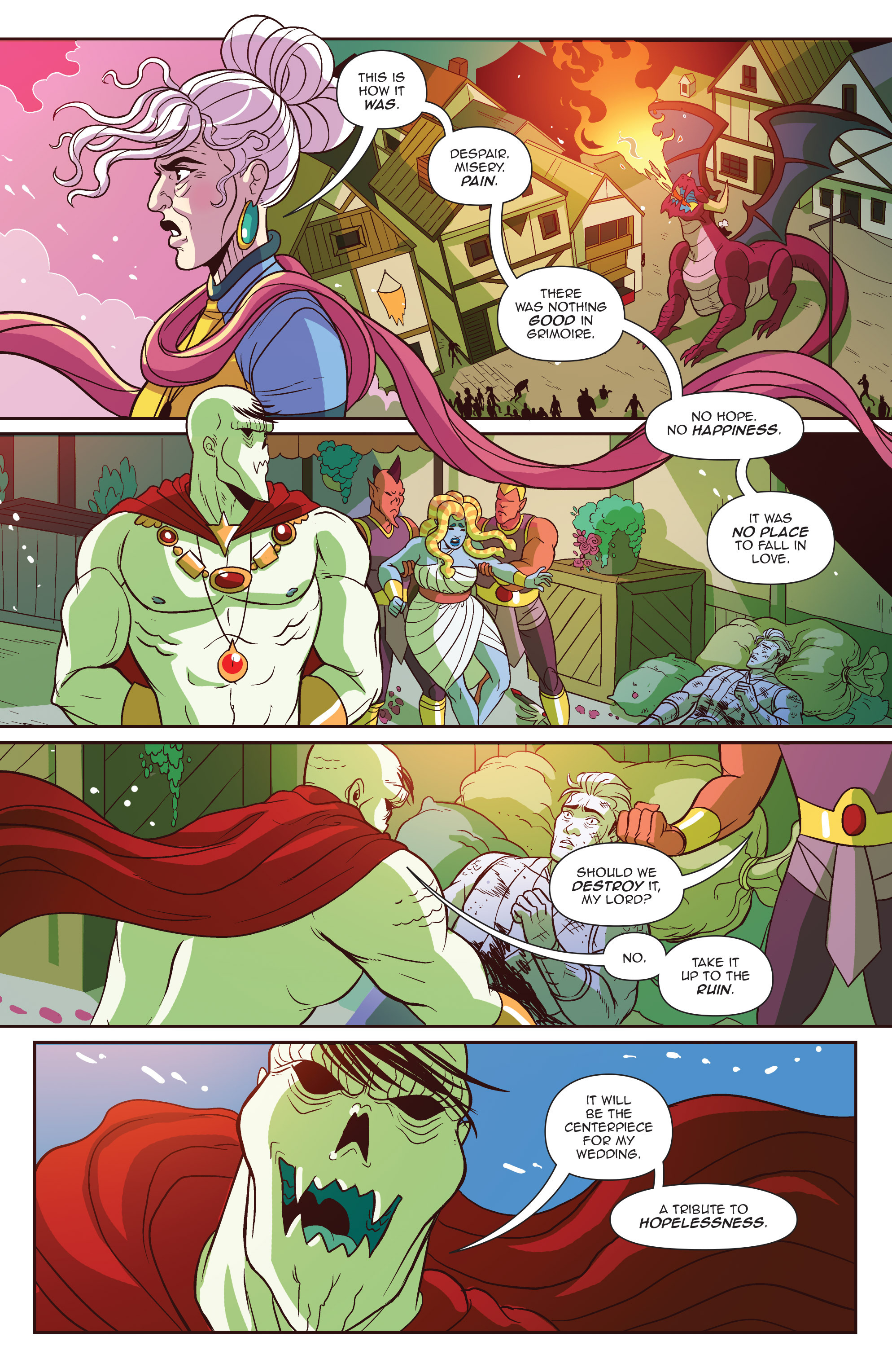 Read online Another Castle comic -  Issue #5 - 3