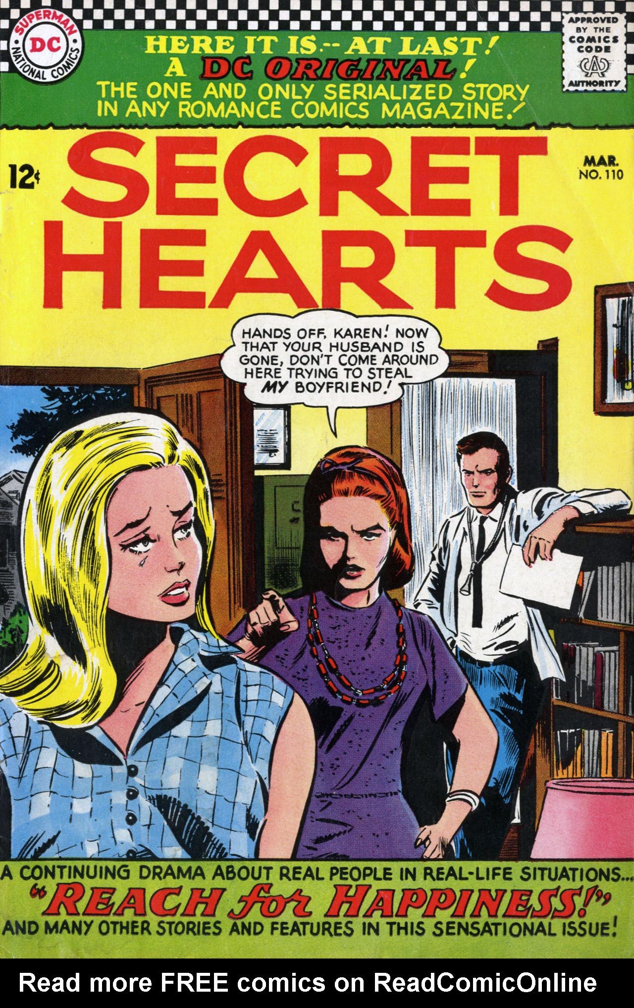 Read online Secret Hearts comic -  Issue #110 - 1