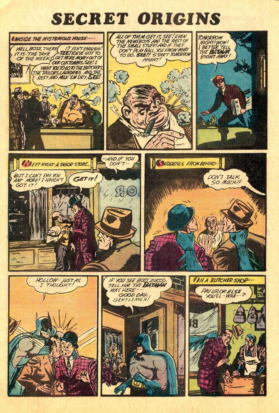 Read online Secret Origins (1973) comic -  Issue #7 - 8