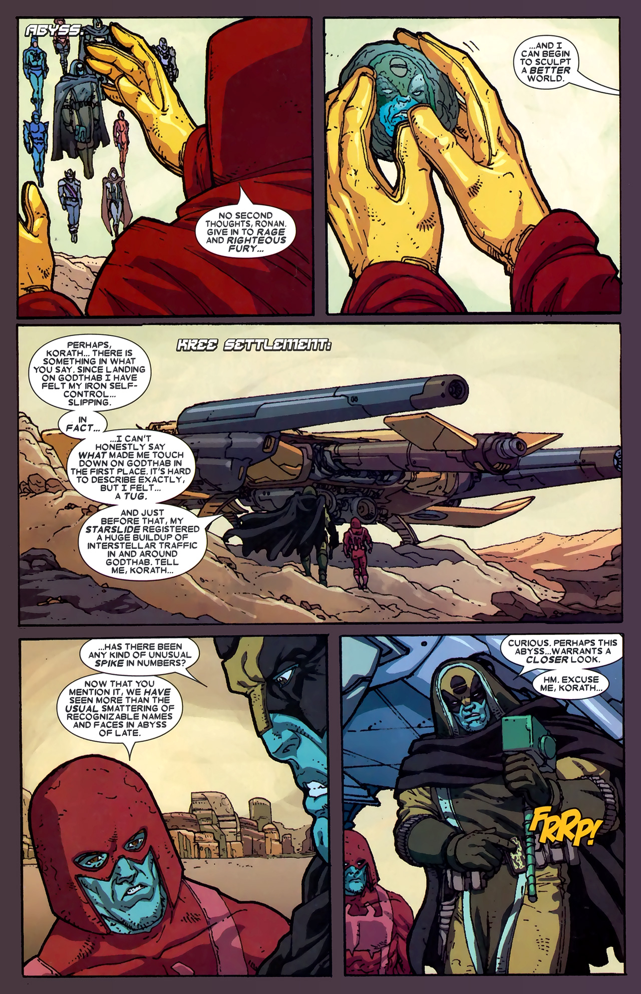 Read online Annihilation: Ronan comic -  Issue #2 - 16