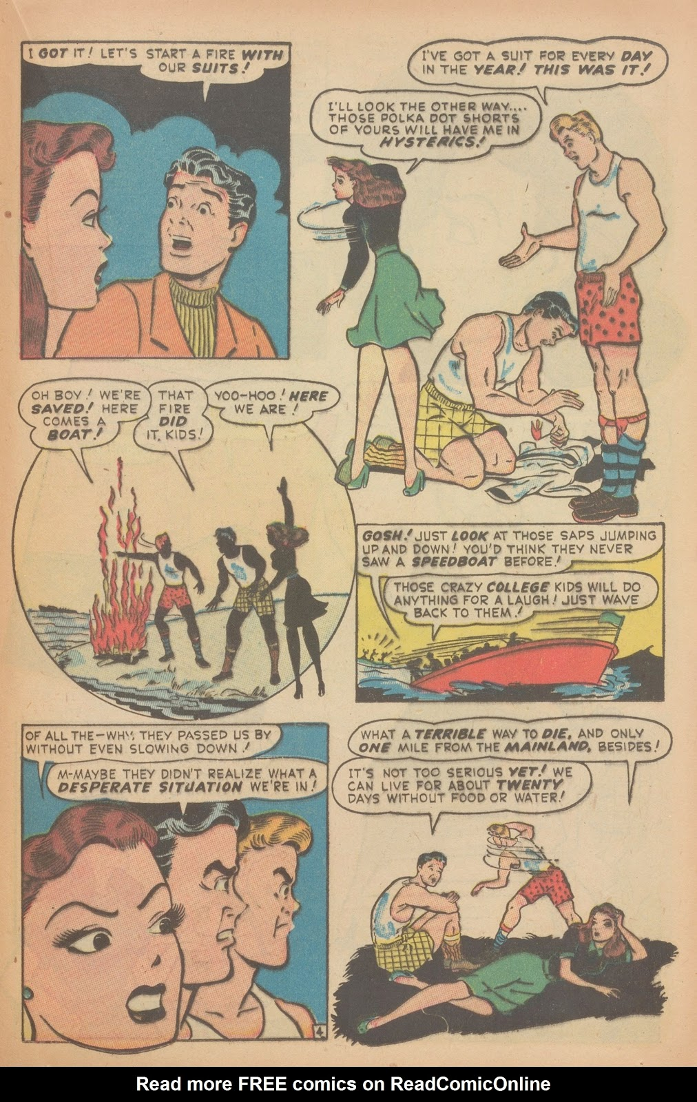 Read online Nellie The Nurse (1945) comic -  Issue #11 - 33
