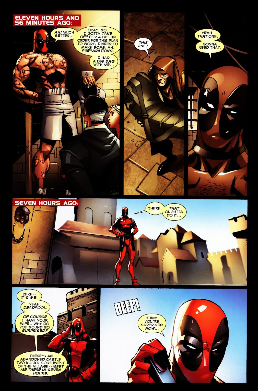 Read online Deadpool (2008) comic -  Issue #5 - 19