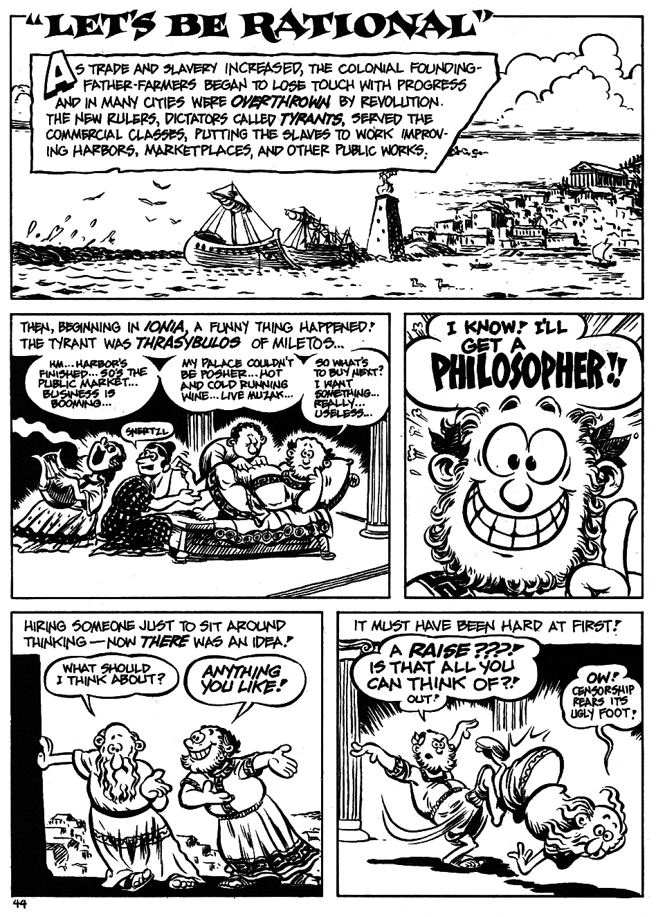Read online The Cartoon History of the Universe comic -  Issue #5 - 46