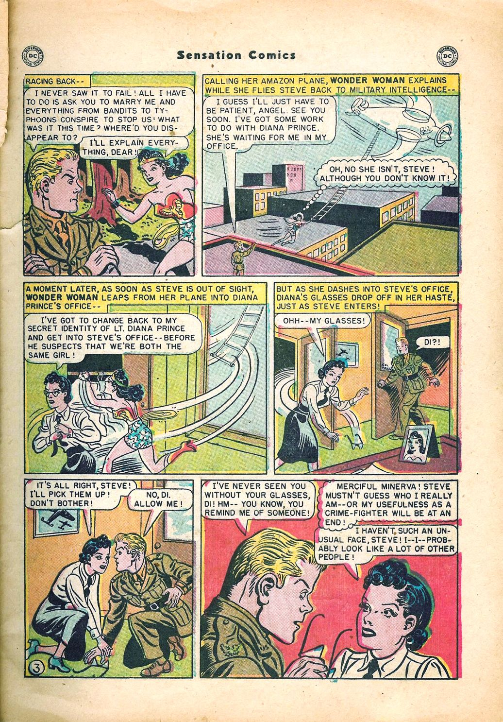 Read online Sensation (Mystery) Comics comic -  Issue #95 - 5