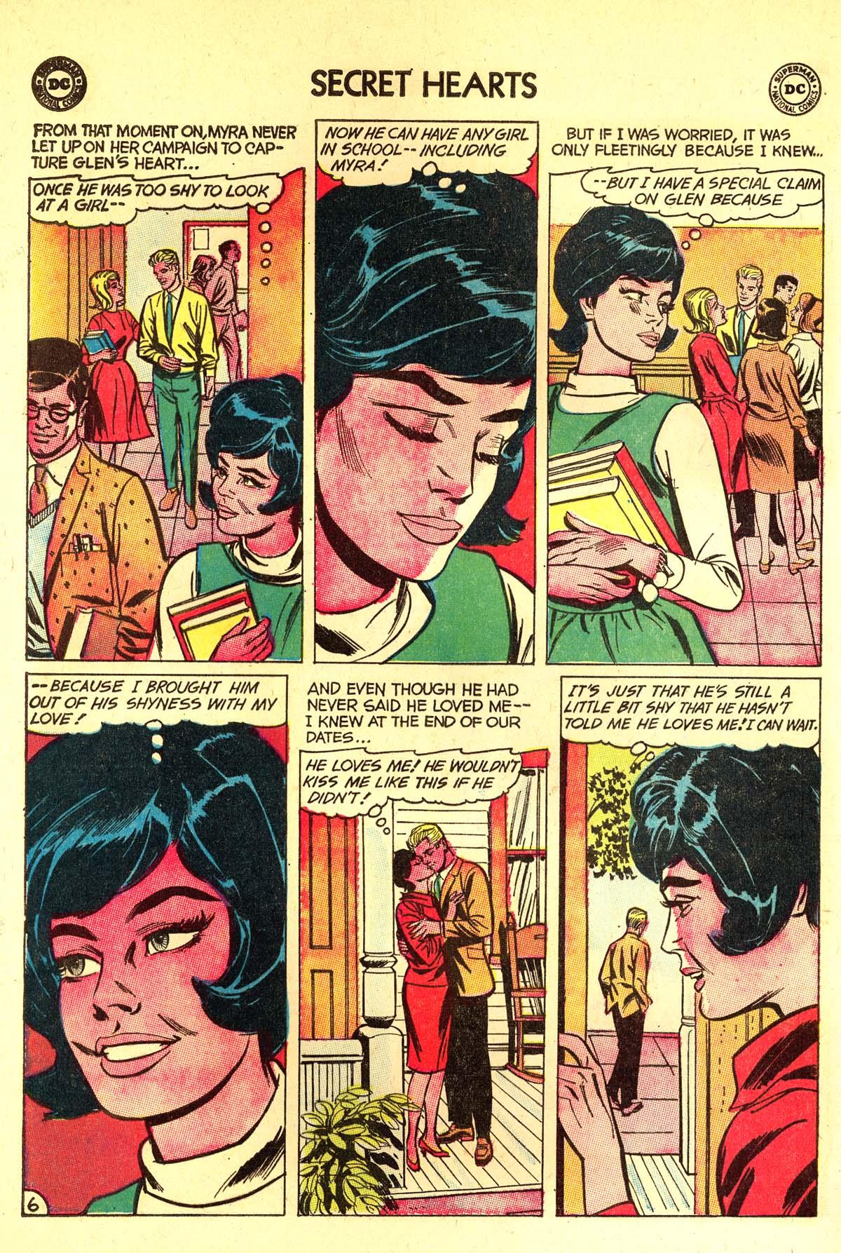 Read online Secret Hearts comic -  Issue #89 - 16