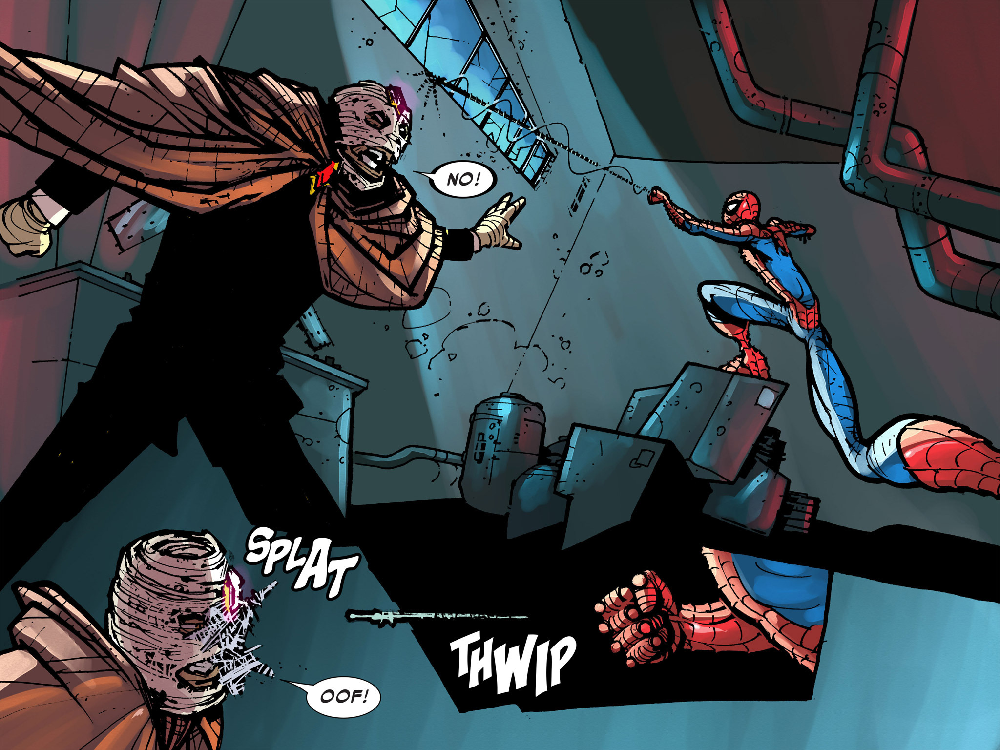 Read online Amazing Spider-Man: Who Am I? comic -  Issue # Full (Part 2) - 242