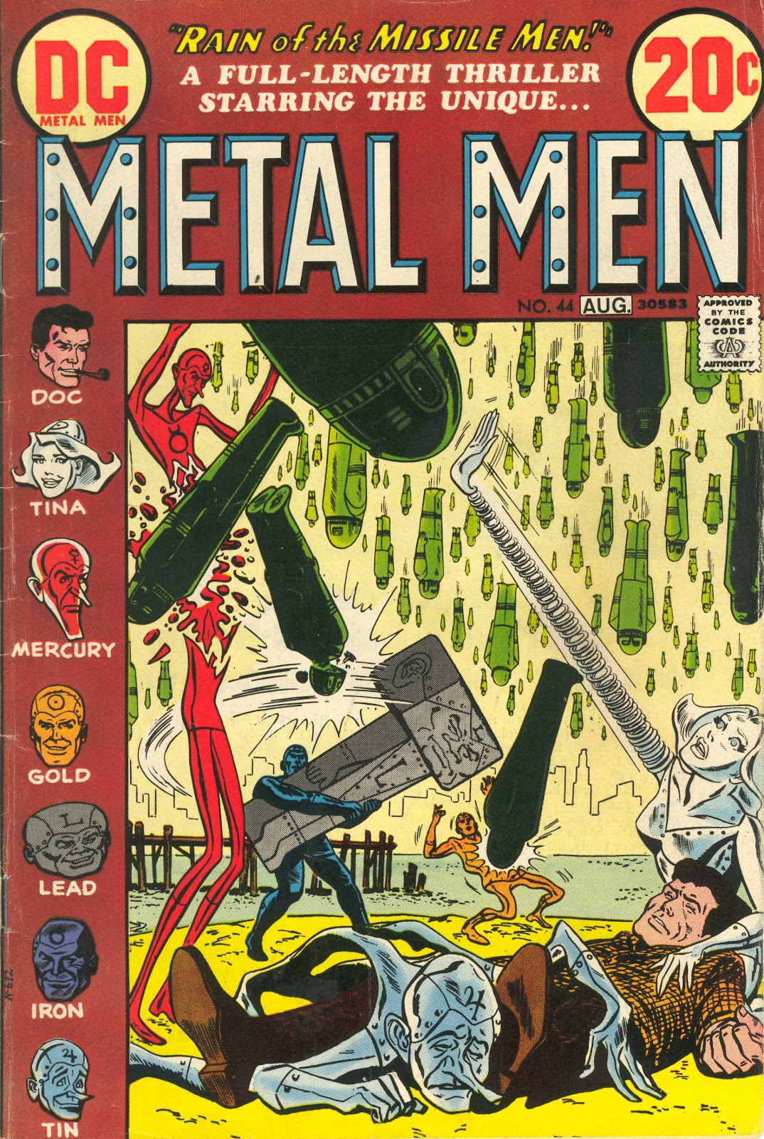 Metal Men (1963) issue 44 - Page 1