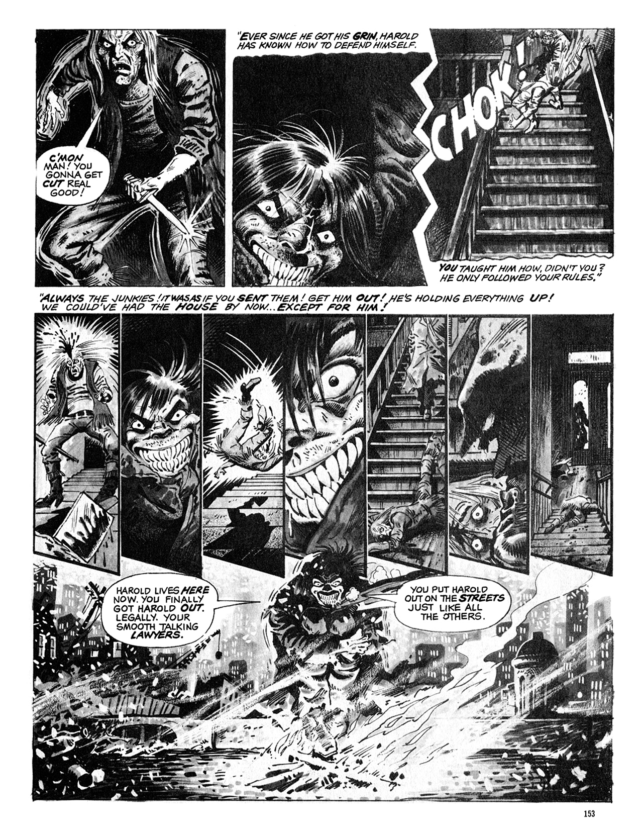 Read online Eerie Archives comic -  Issue # TPB 8 - 154