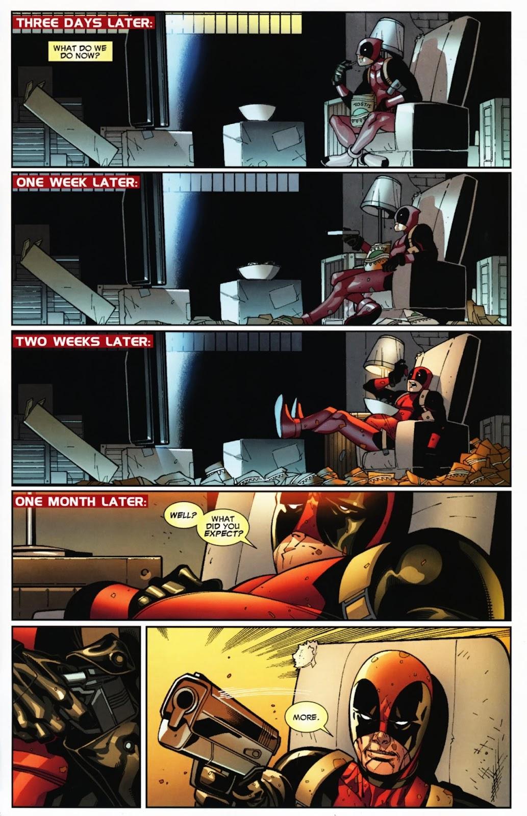 Read online Deadpool (2008) comic -  Issue #12 - 23