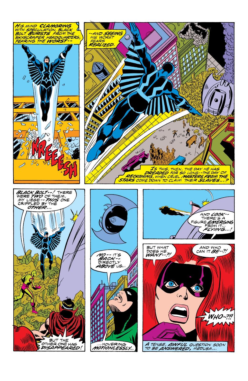 Read online Marvel Masterworks: The Inhumans comic -  Issue # TPB 2 (Part 1) - 58
