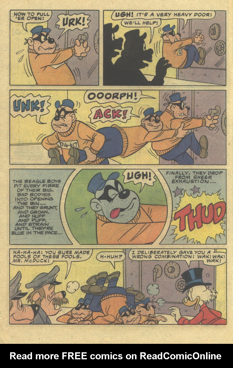 Read online Uncle Scrooge (1953) comic -  Issue #197 - 6