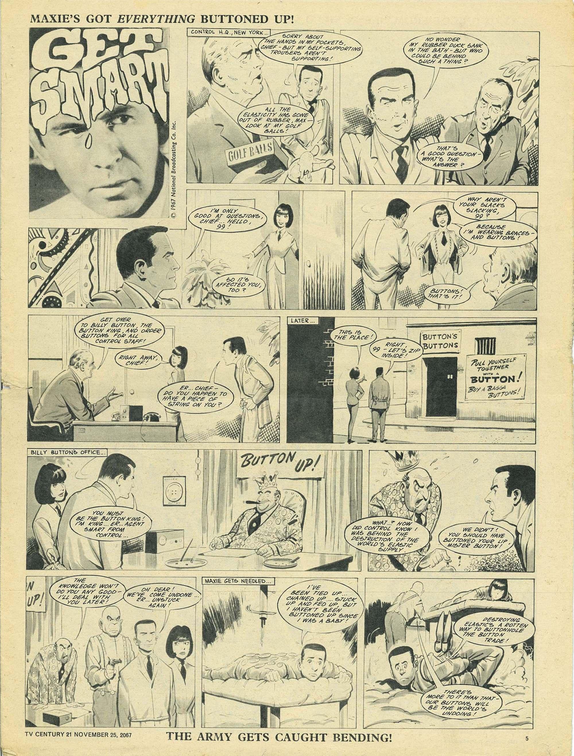 Read online TV Century 21 (TV 21) comic -  Issue #149 - 5