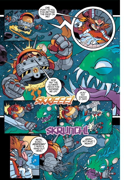 Read online Sonic Comics Spectacular: Speed of Sound comic -  Issue # Full - 138