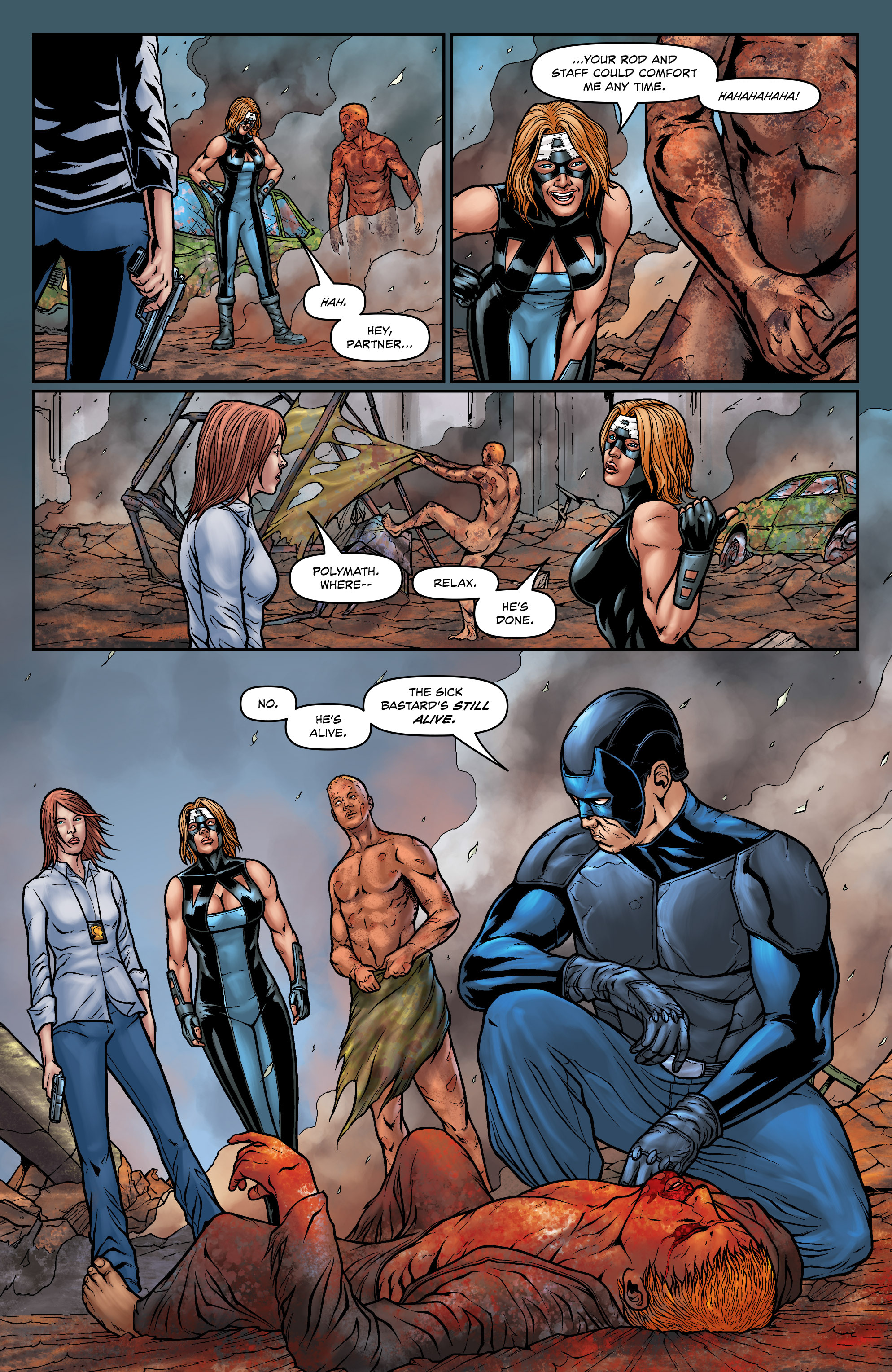 Read online Absolution: Rubicon comic -  Issue #5 - 15