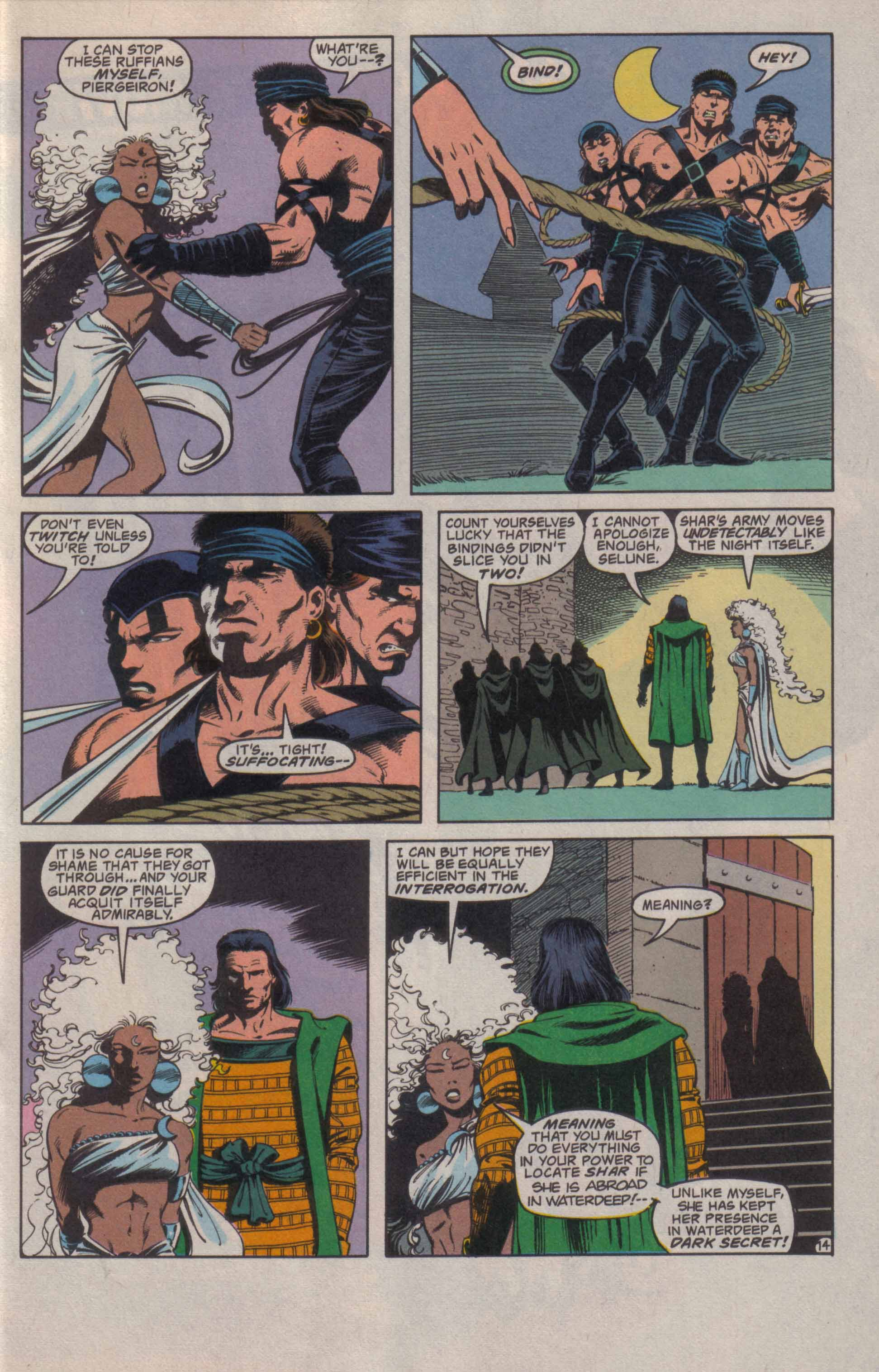 Read online Advanced Dungeons & Dragons comic -  Issue #20 - 15