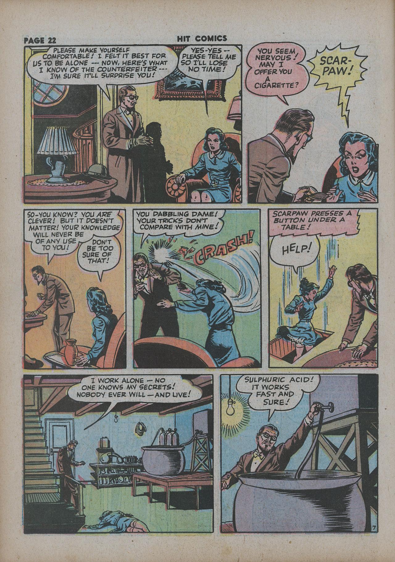 Read online Hit Comics comic -  Issue #27 - 24