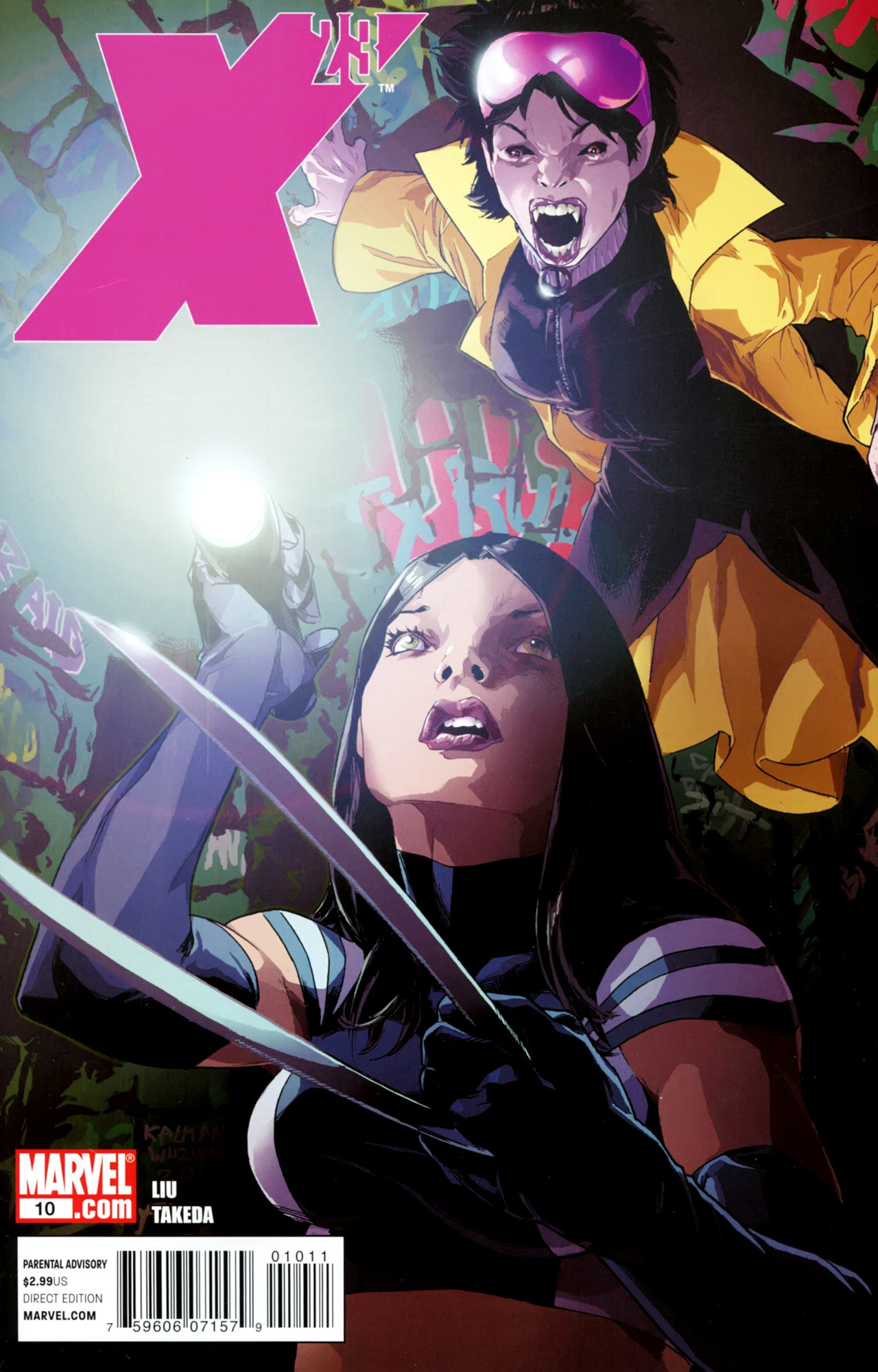 Read online X-23 (2010) comic -  Issue #10 - 1
