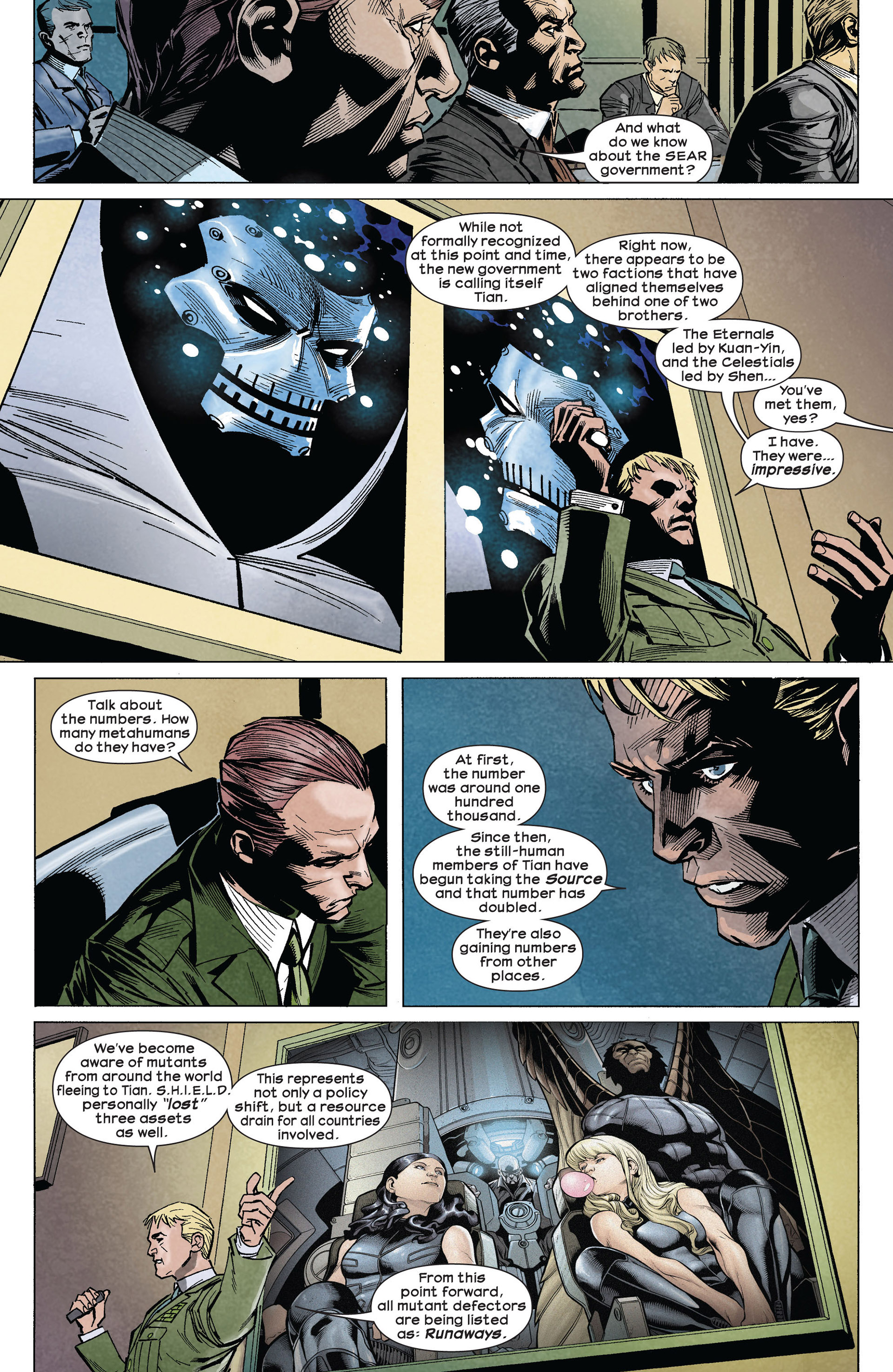 Read online Ultimate Comics Ultimates comic -  Issue #5 - 12