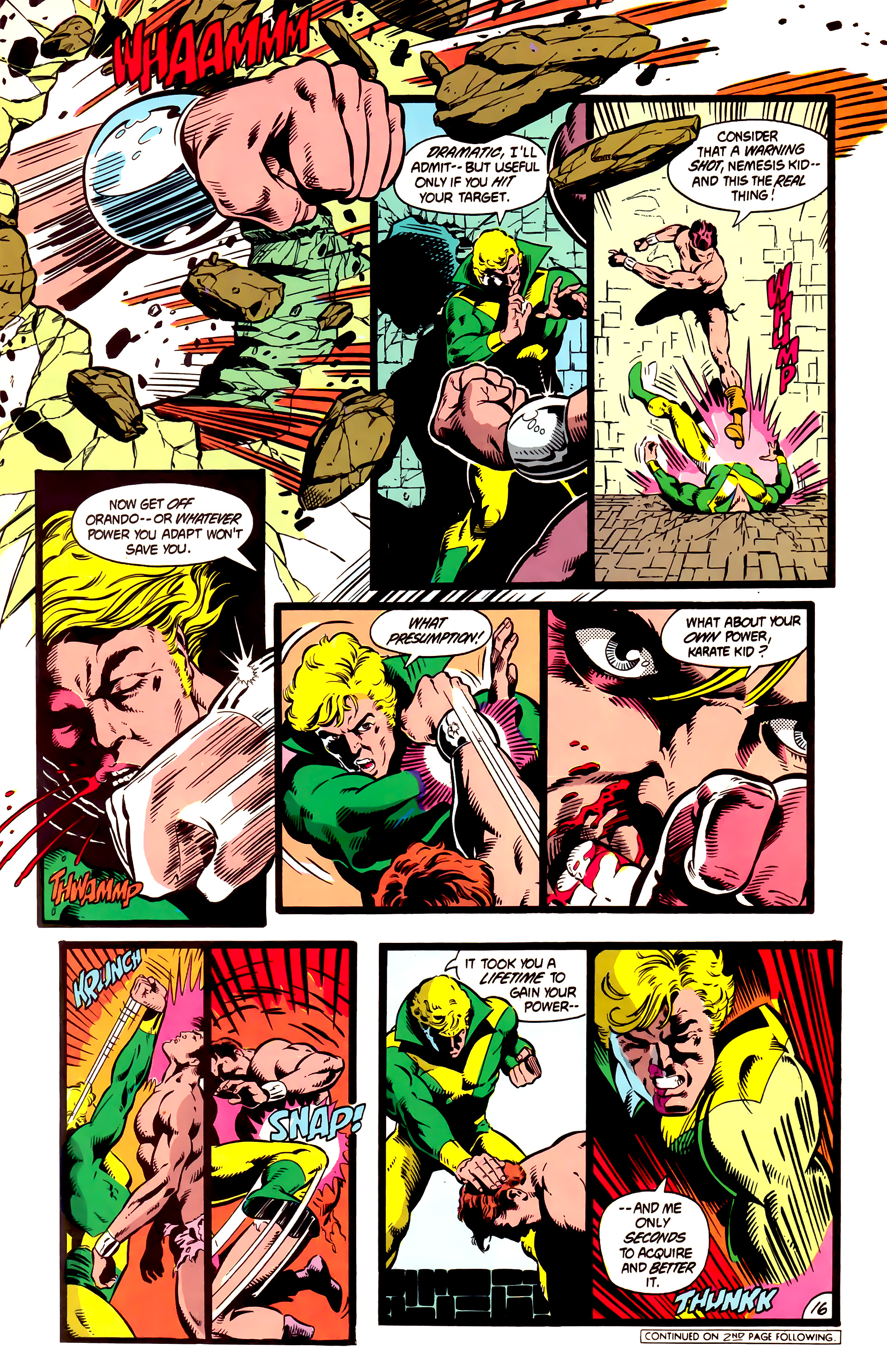 Legion of Super-Heroes (1984) 4 Page 17