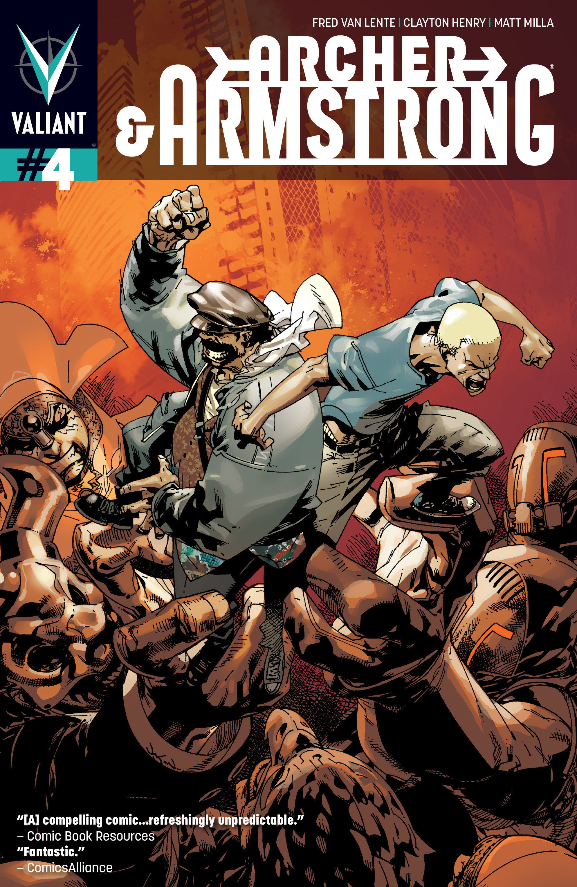 Read online Archer and Armstrong comic -  Issue #4 - 1
