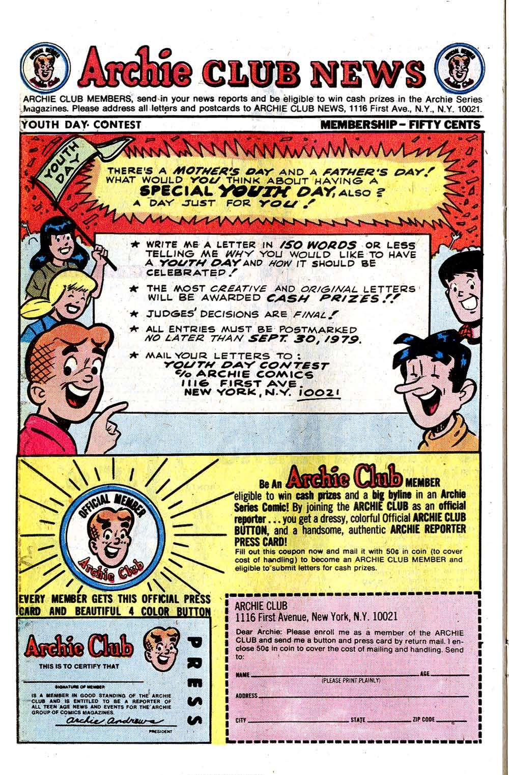 Read online Archie (1960) comic -  Issue #284 - 26