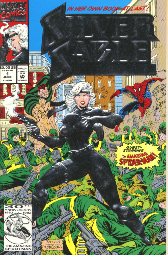 Read online Silver Sable and the Wild Pack comic -  Issue #1 - 1