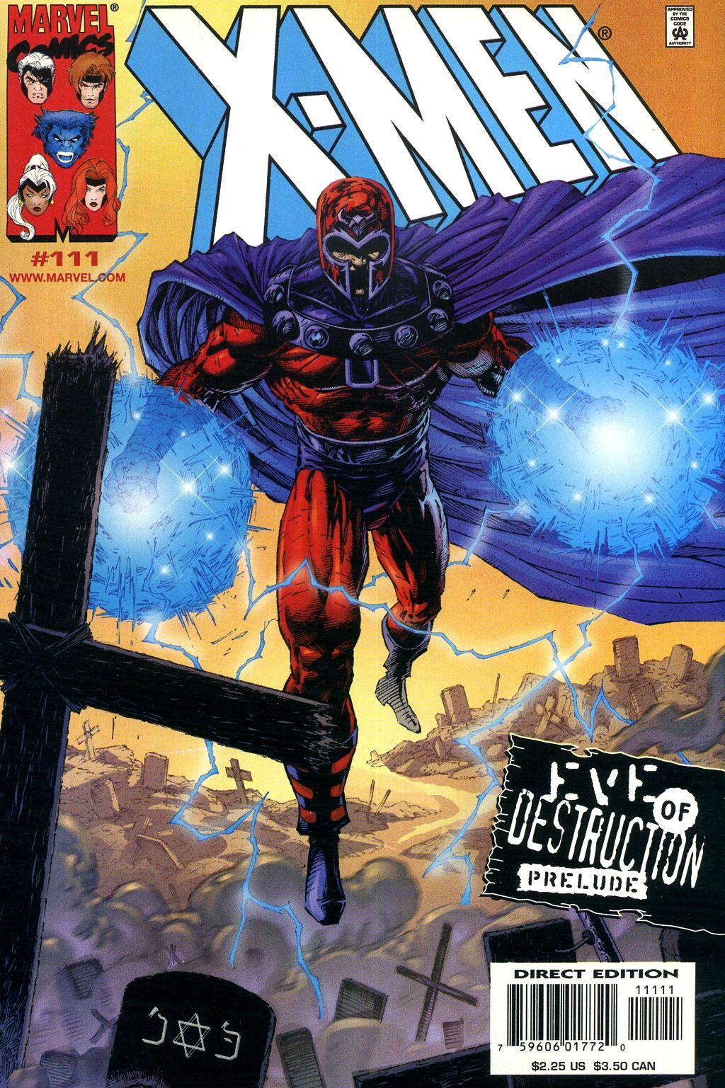 X-Men (1991) 111 Page 0