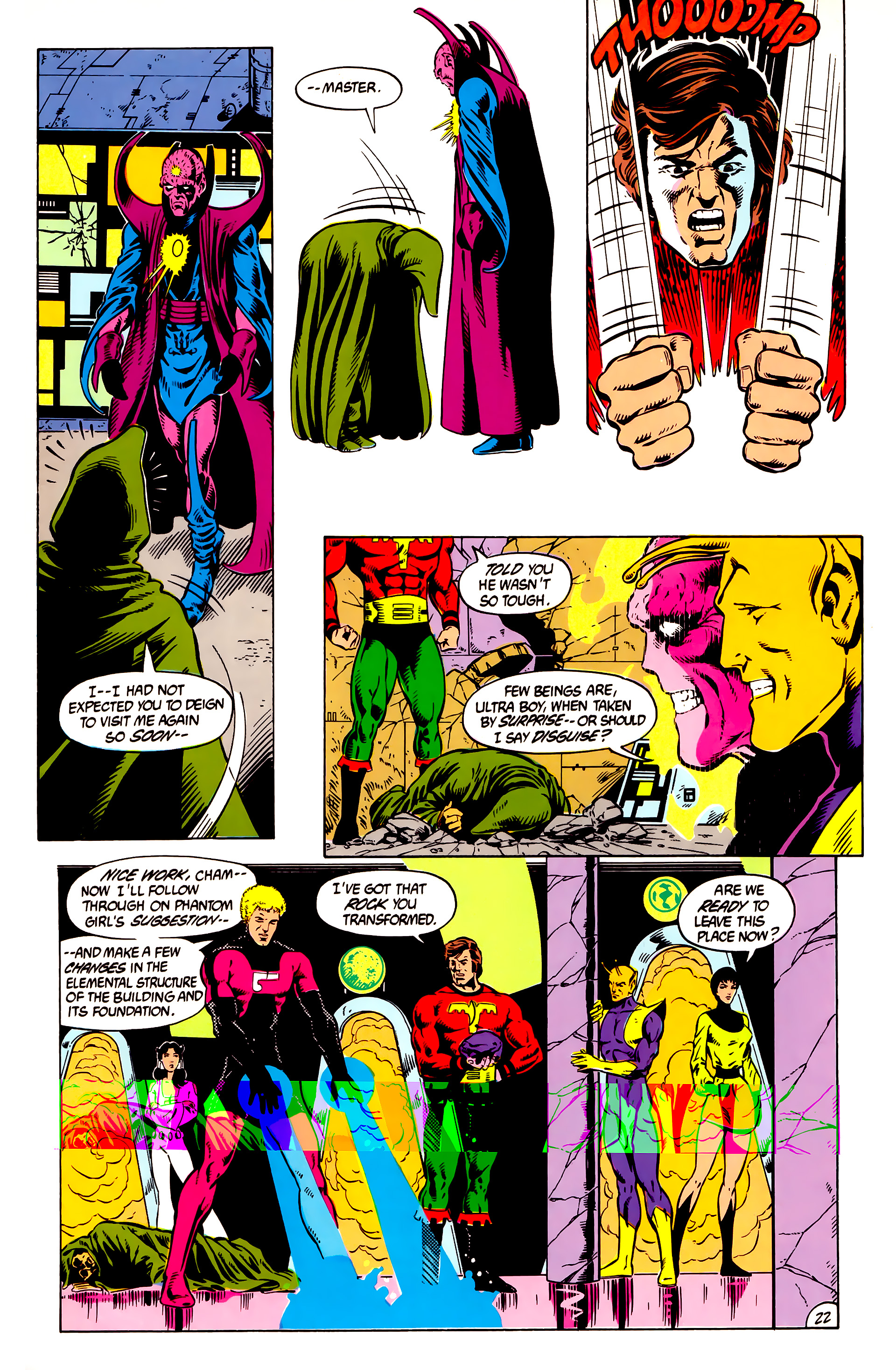 Legion of Super-Heroes (1984) 8 Page 23