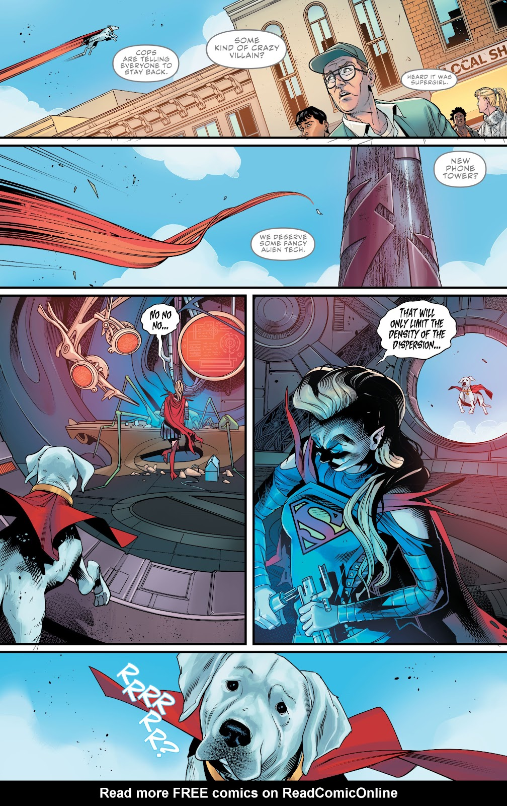 Read online Supergirl (2016) comic -  Issue #38 - 5