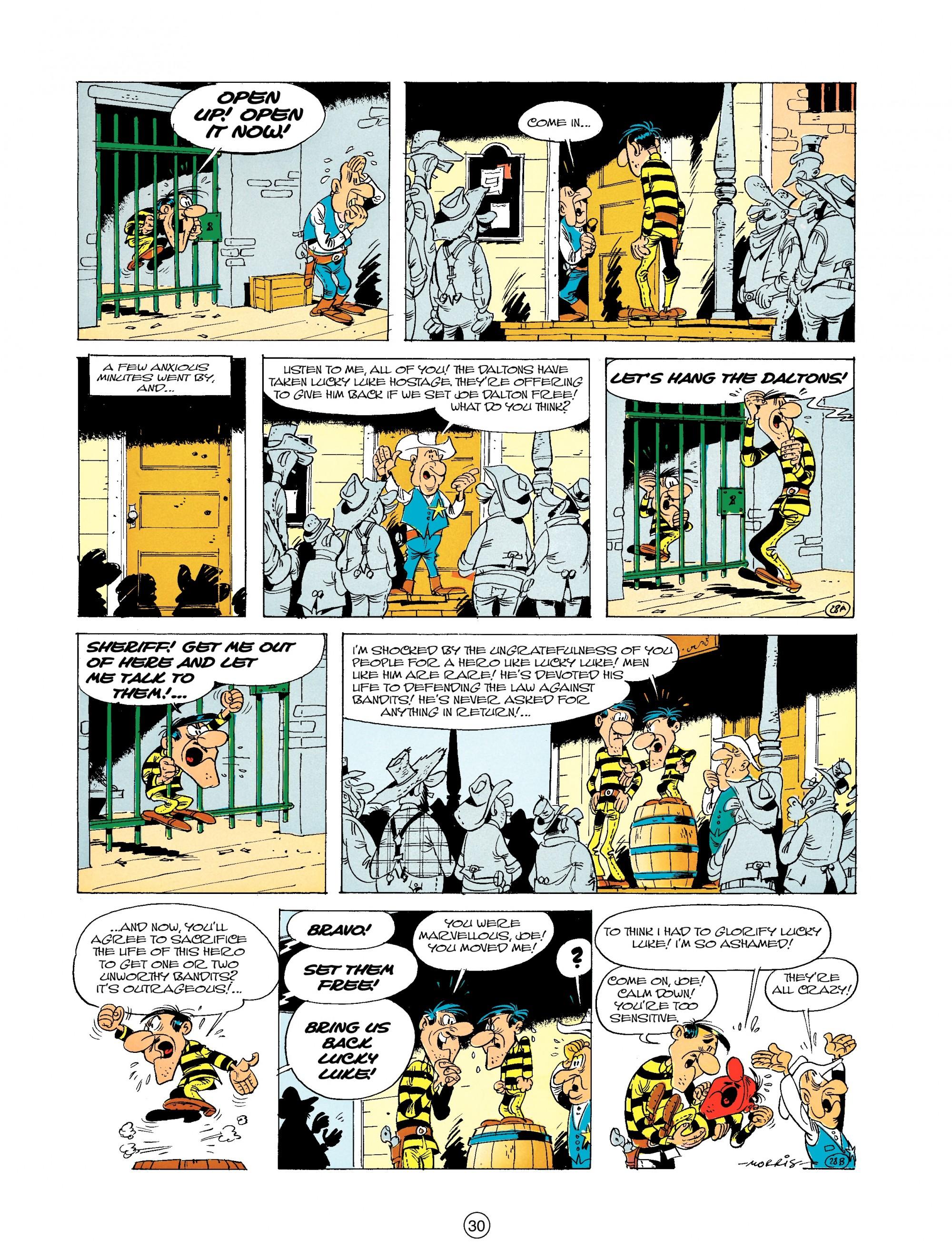 Read online A Lucky Luke Adventure comic -  Issue #19 - 30