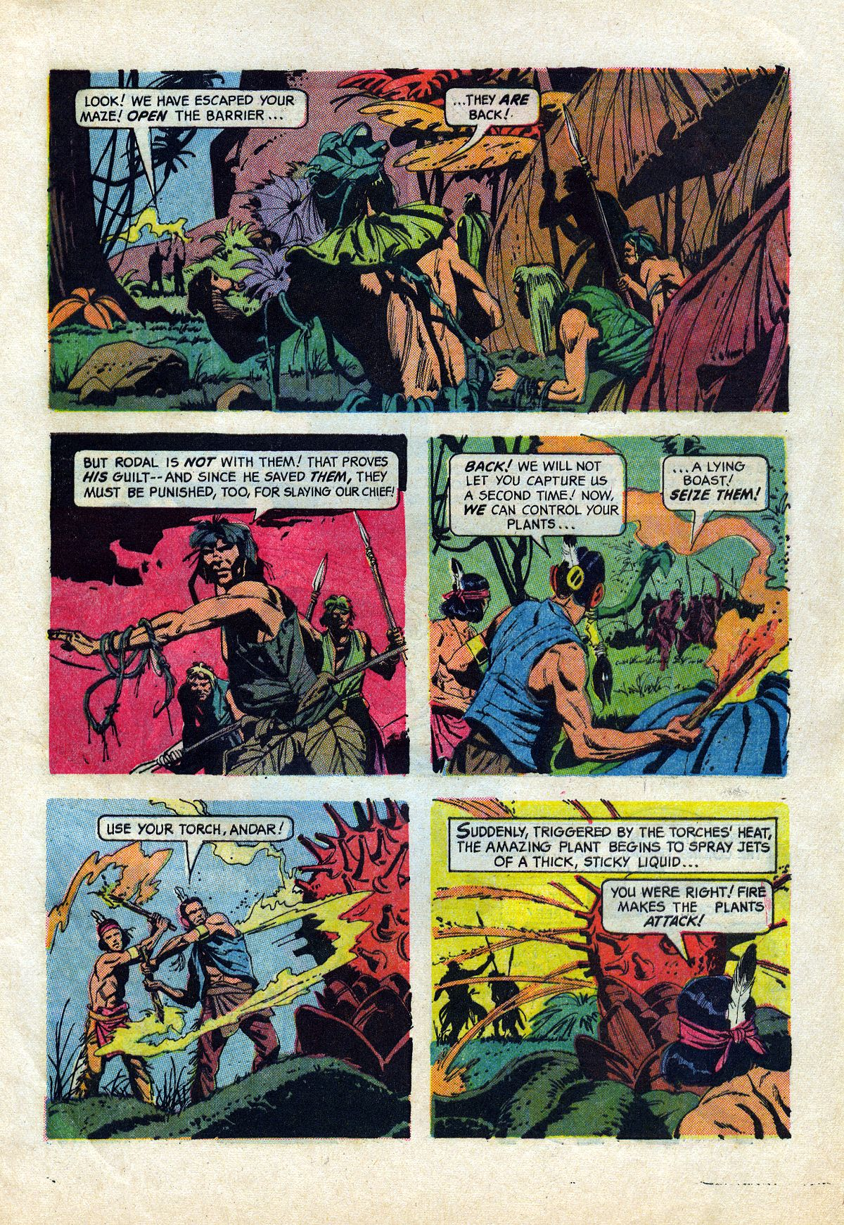 Read online Turok, Son of Stone comic -  Issue #45 - 29