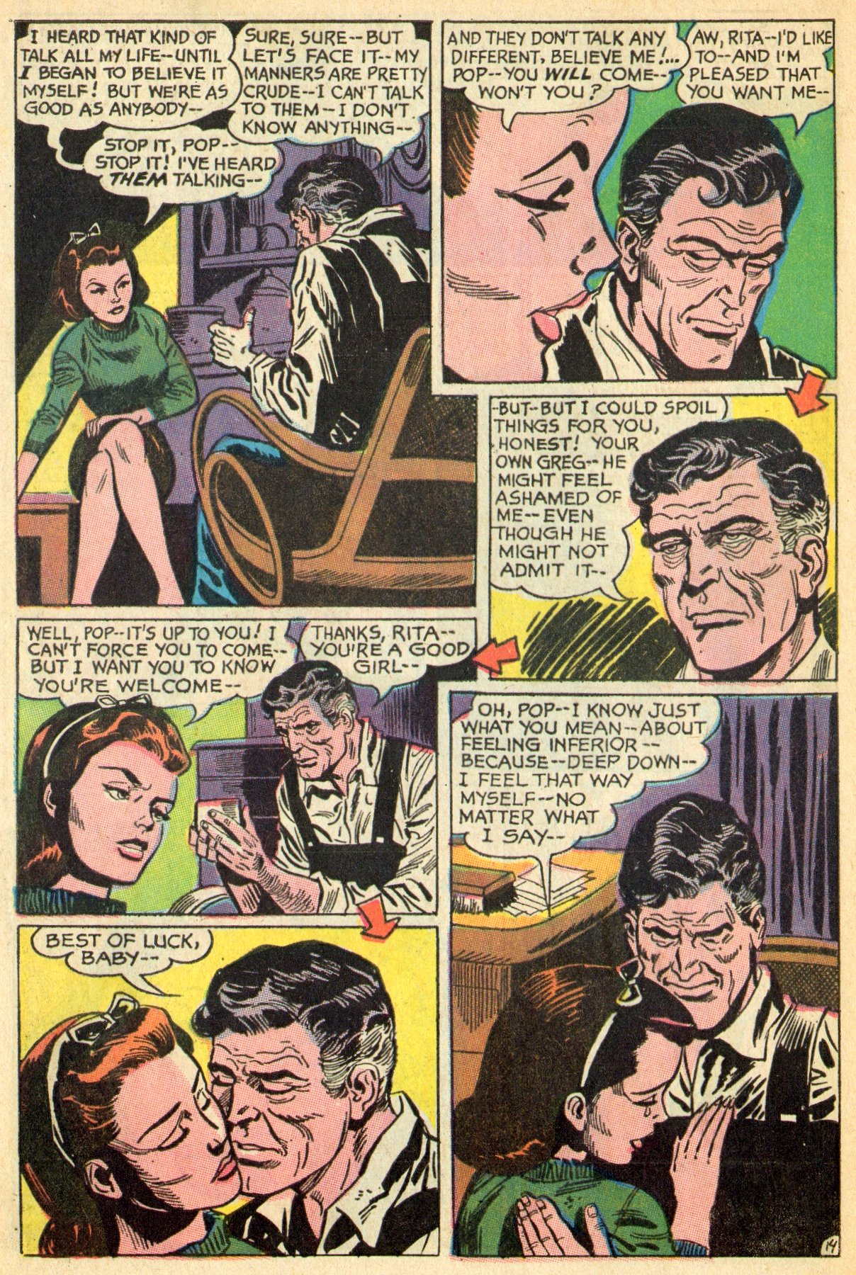 Read online Secret Hearts comic -  Issue #119 - 32