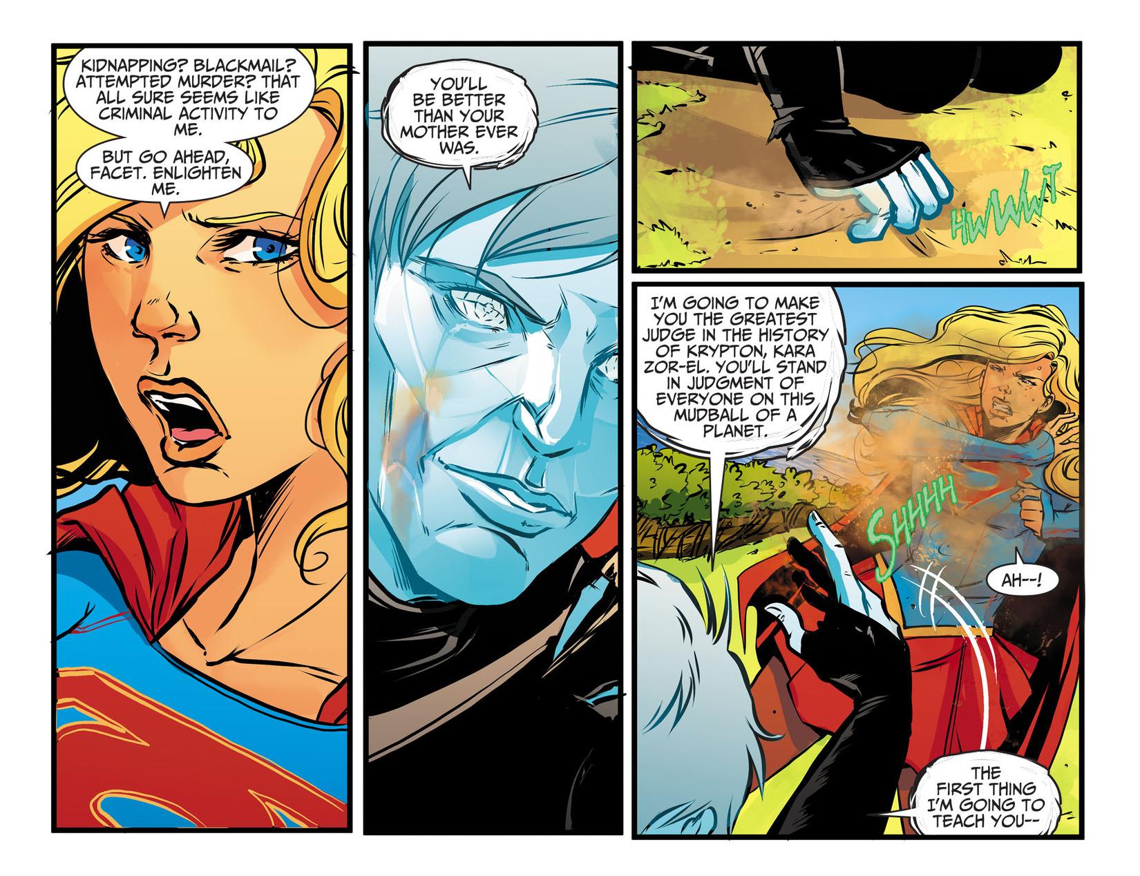 Read online Adventures of Supergirl comic -  Issue #13 - 8